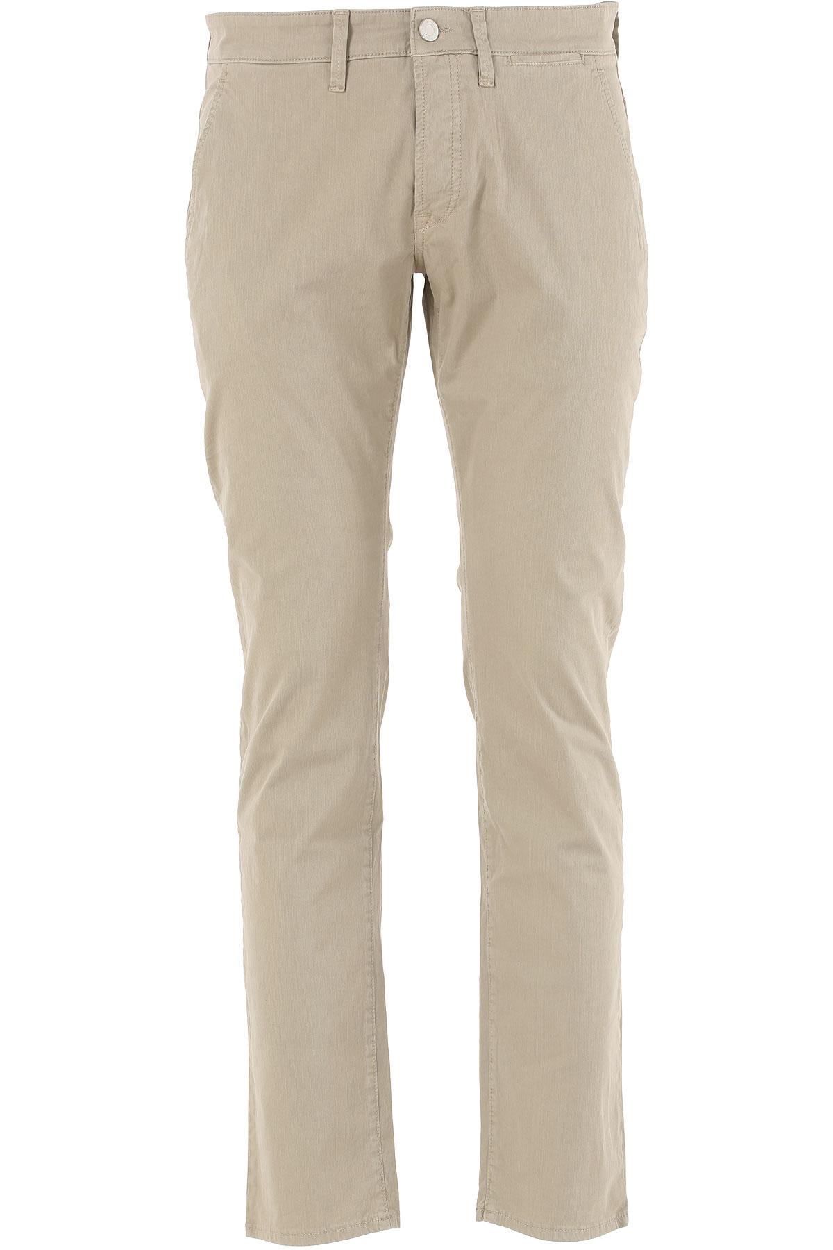 Siviglia Pantalon Homme Pas cher en Soldes, Safari, Coton, 2017, 46 48 51 54 56