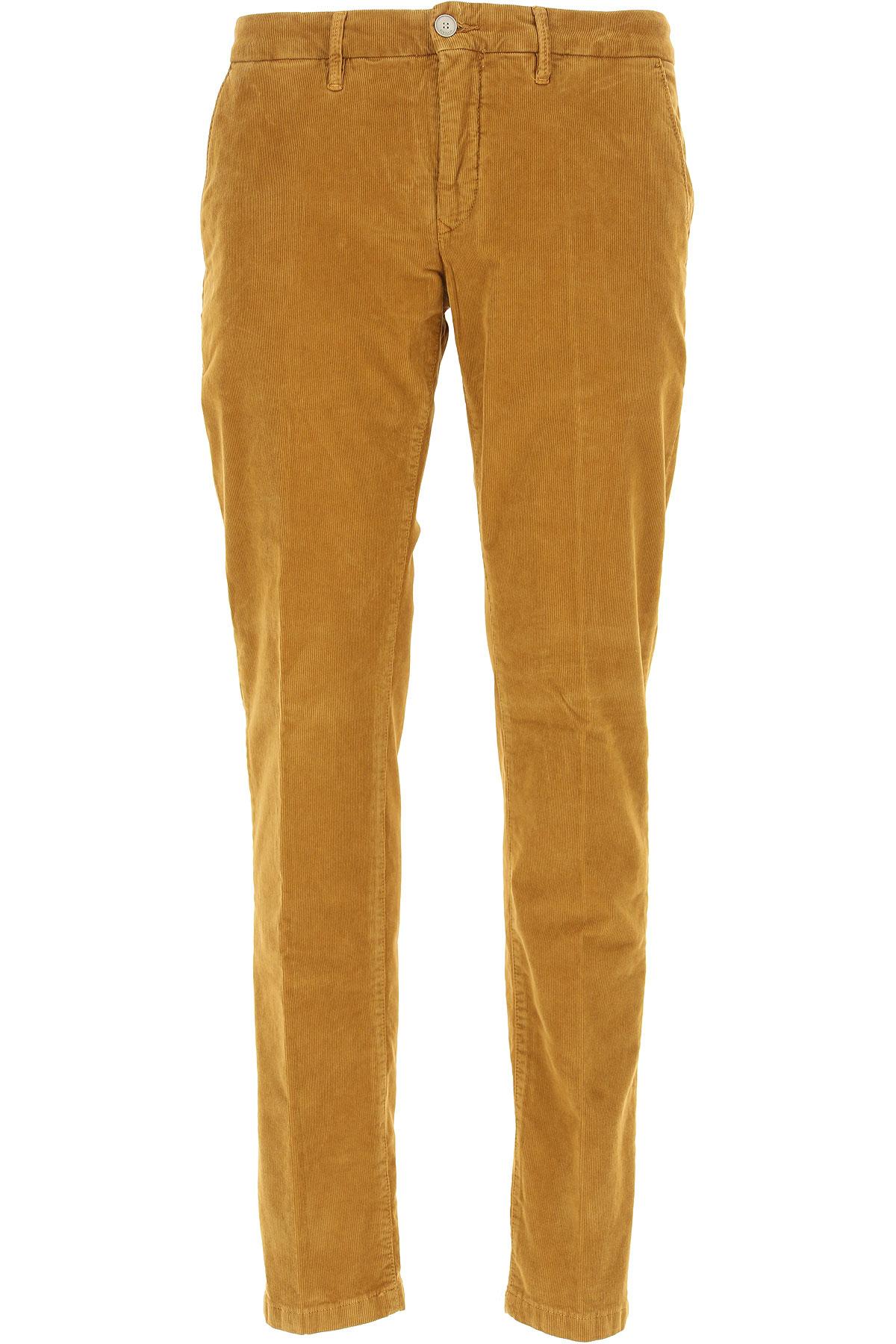 Siviglia Pants for Men On Sale, Camel, Cotton, 2017, 32 33 34 35 36