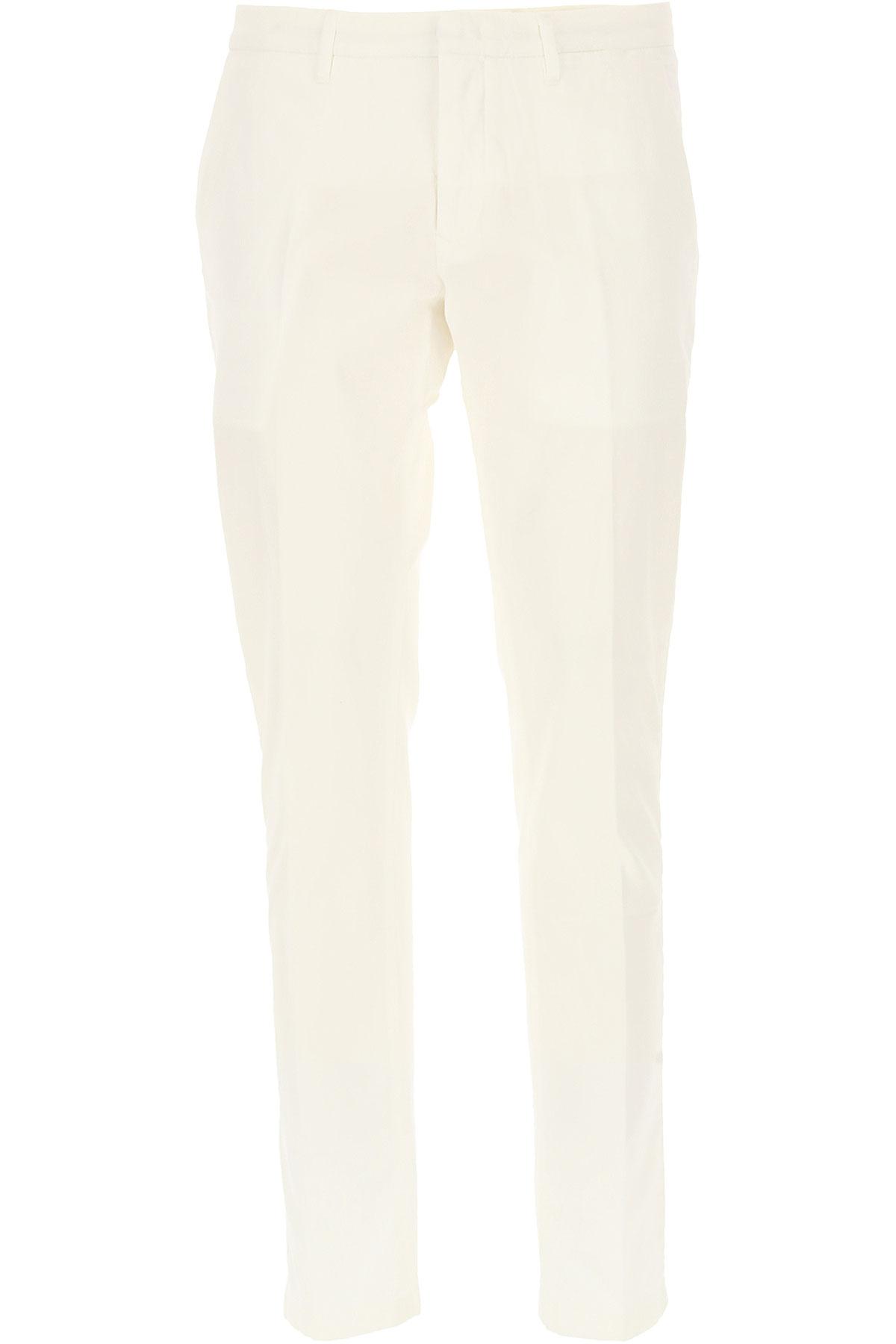 Siviglia Pantalon Homme Pas Cher En Soldes, Blanc, Coton, 2019, 50 51 52 54