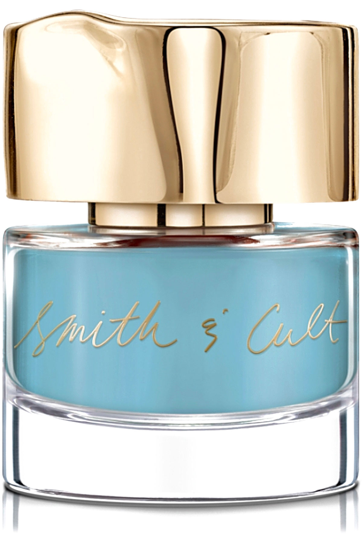 Smith & Cult Makeup for Women On Sale, Cut The Mullet - Nail Lacquer - 14 Ml, Pale Dull Blue, 2019, 14 ml