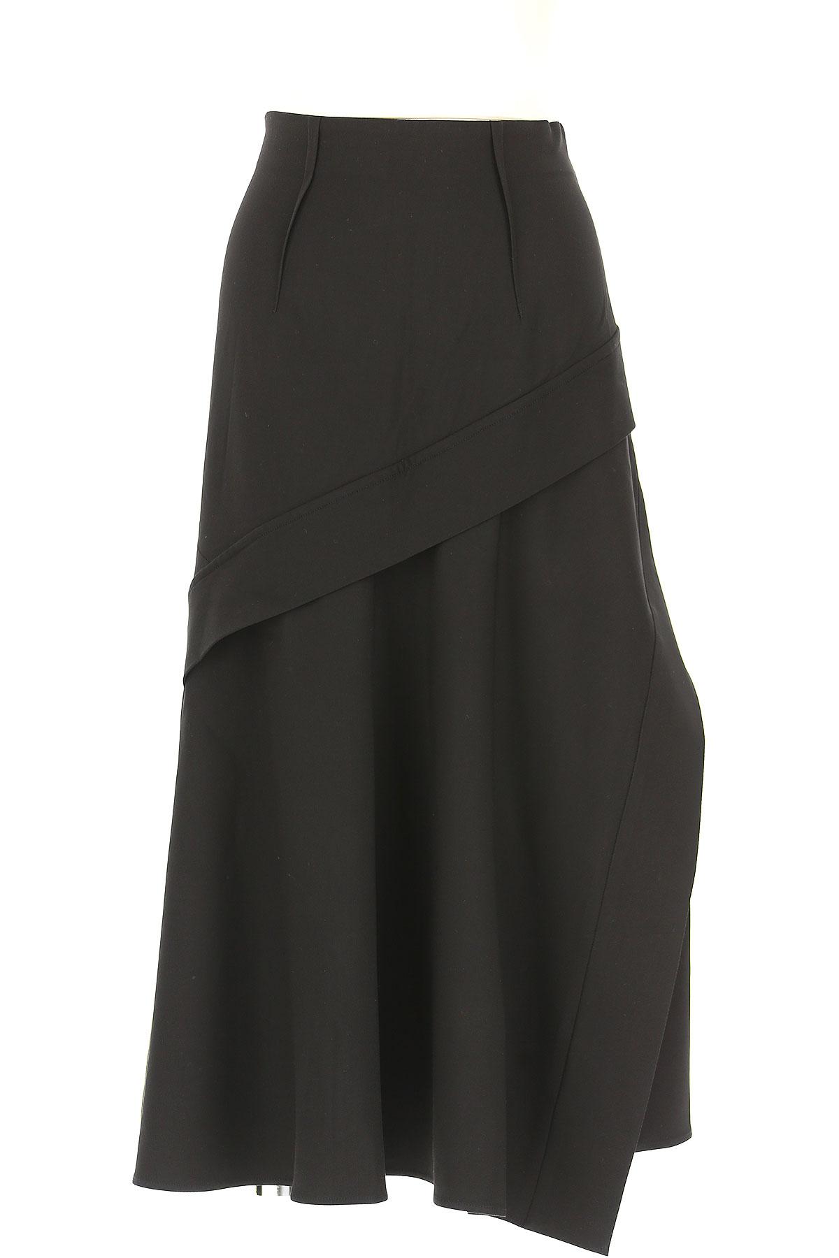 Image of SportMax Skirt for Women, Black, viscosa, 2017, 26 28