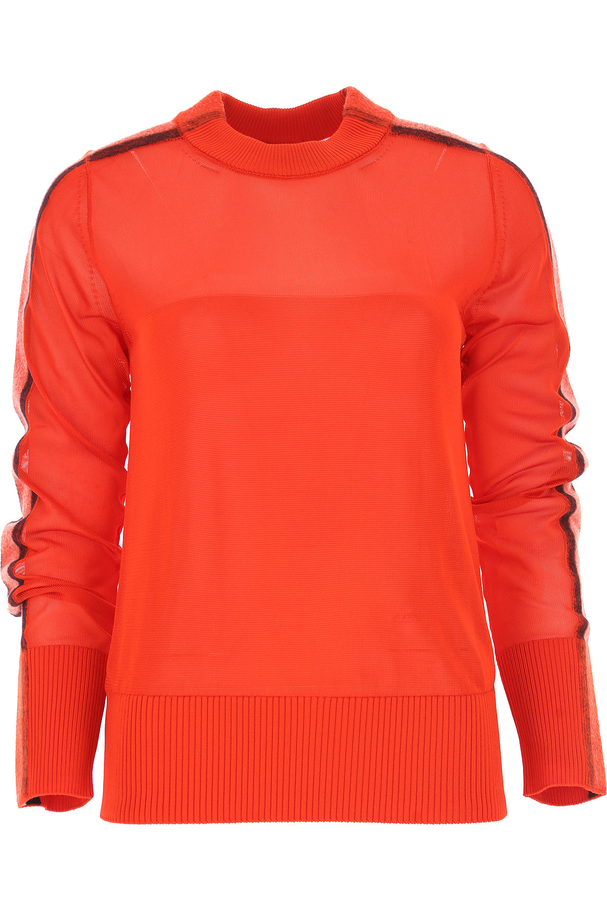 Image of SportMax Sweater for Women Jumper, Red, Viscose, 2017, 10 4 6 8