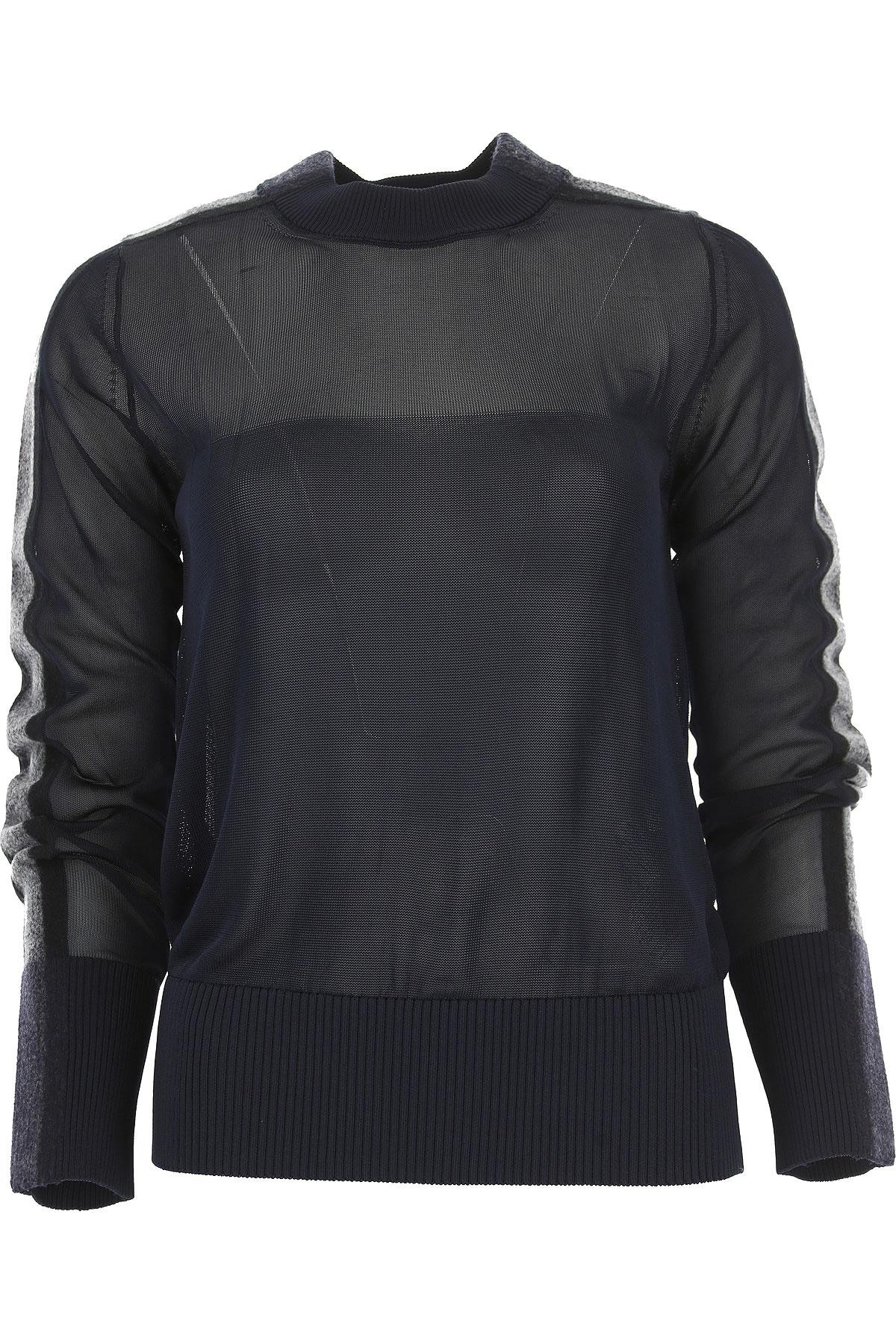 Image of SportMax Sweater for Women Jumper, navy, Viscose, 2017, 10 4 6 8