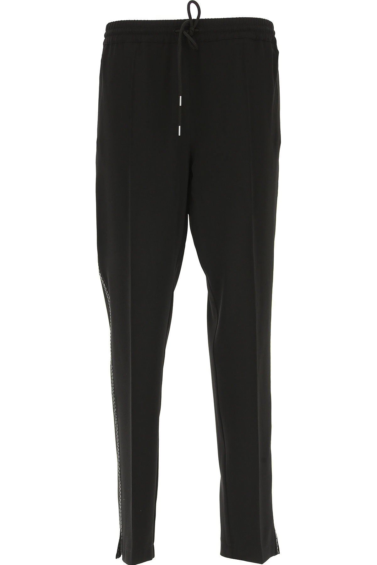 Image of SportMax Pants for Women, Black, polyester, 2017, 26 28 30