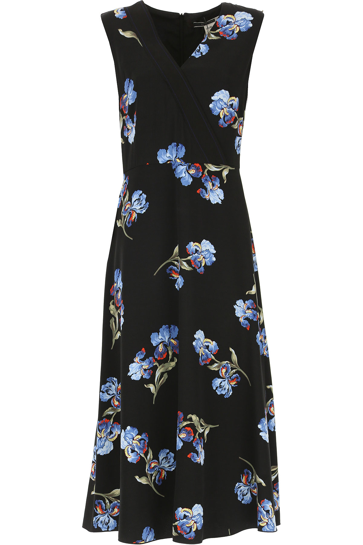 Image of SportMax Dress for Women, Evening Cocktail Party, Black, polyester, 2017, 4 6 8