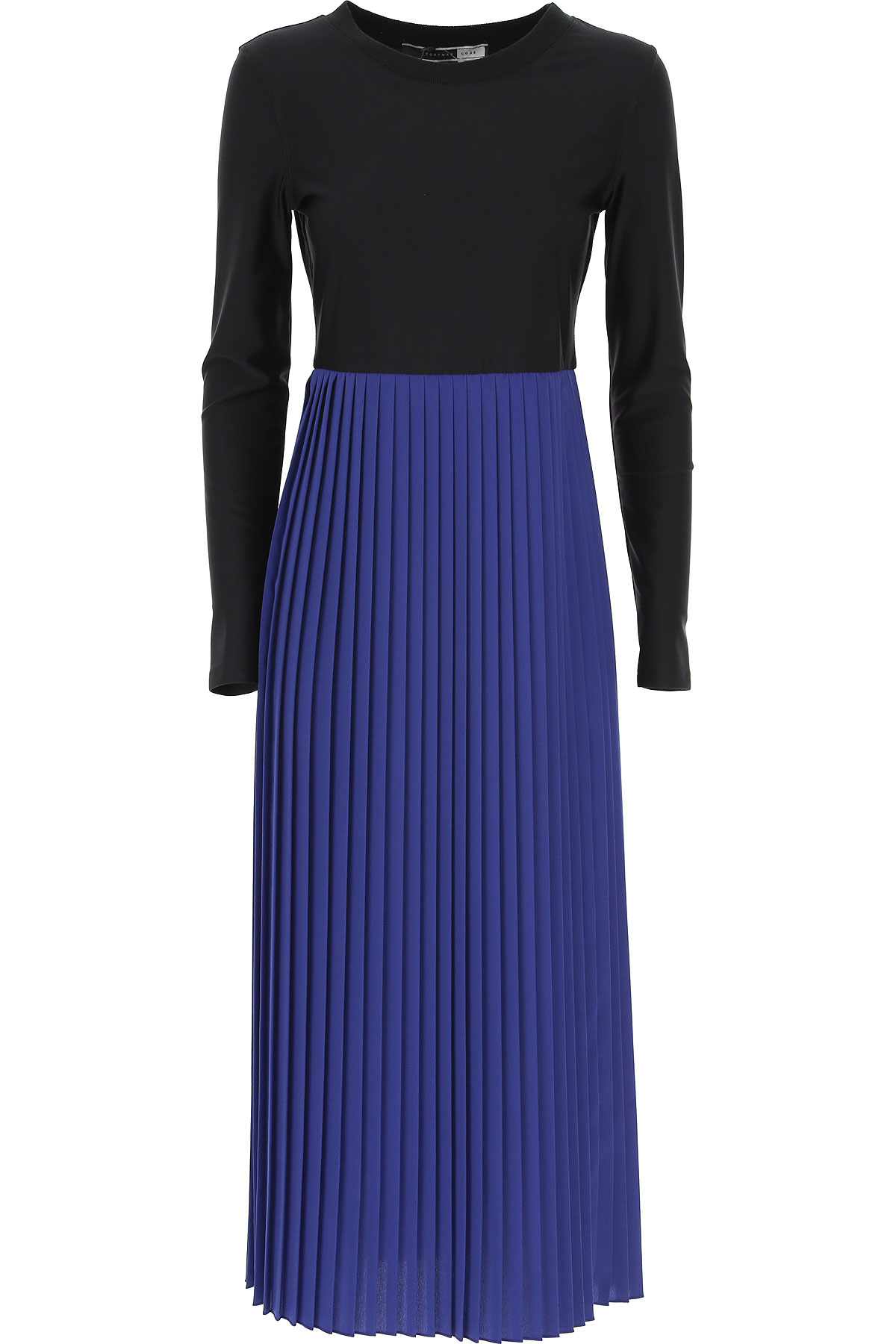 Image of SportMax Dress for Women, Evening Cocktail Party, Bluette, polyamide, 2017, 4 6 8