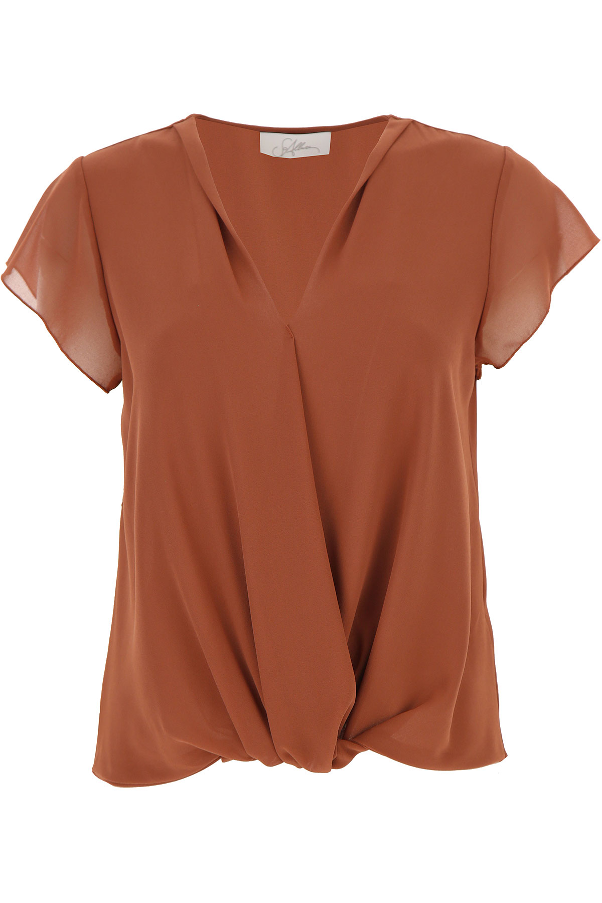 SoAllure Top for Women On Sale, Rust, polyester, 2019, 4 8