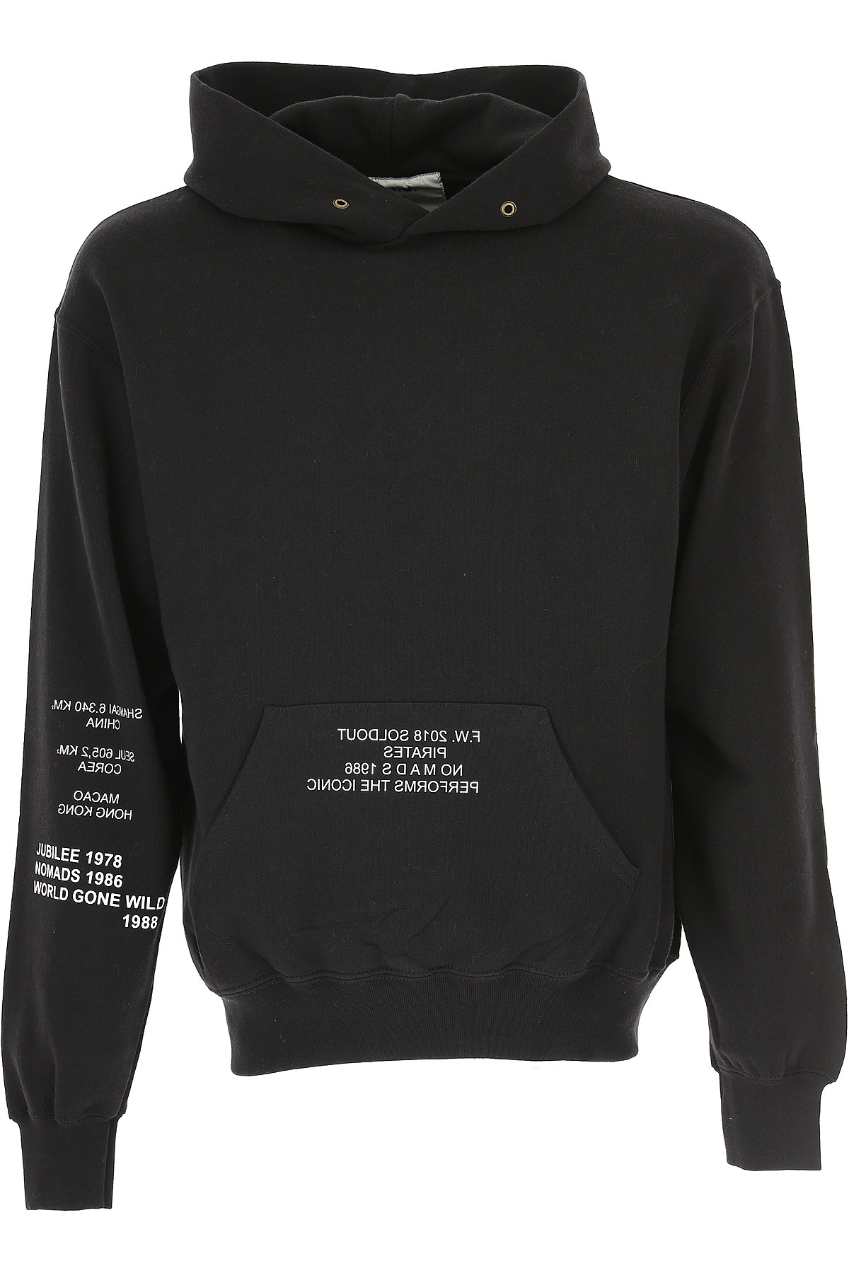 Image of Sold Out FRVR Sweatshirt for Men, Black, Cotton, 2017, M S XL