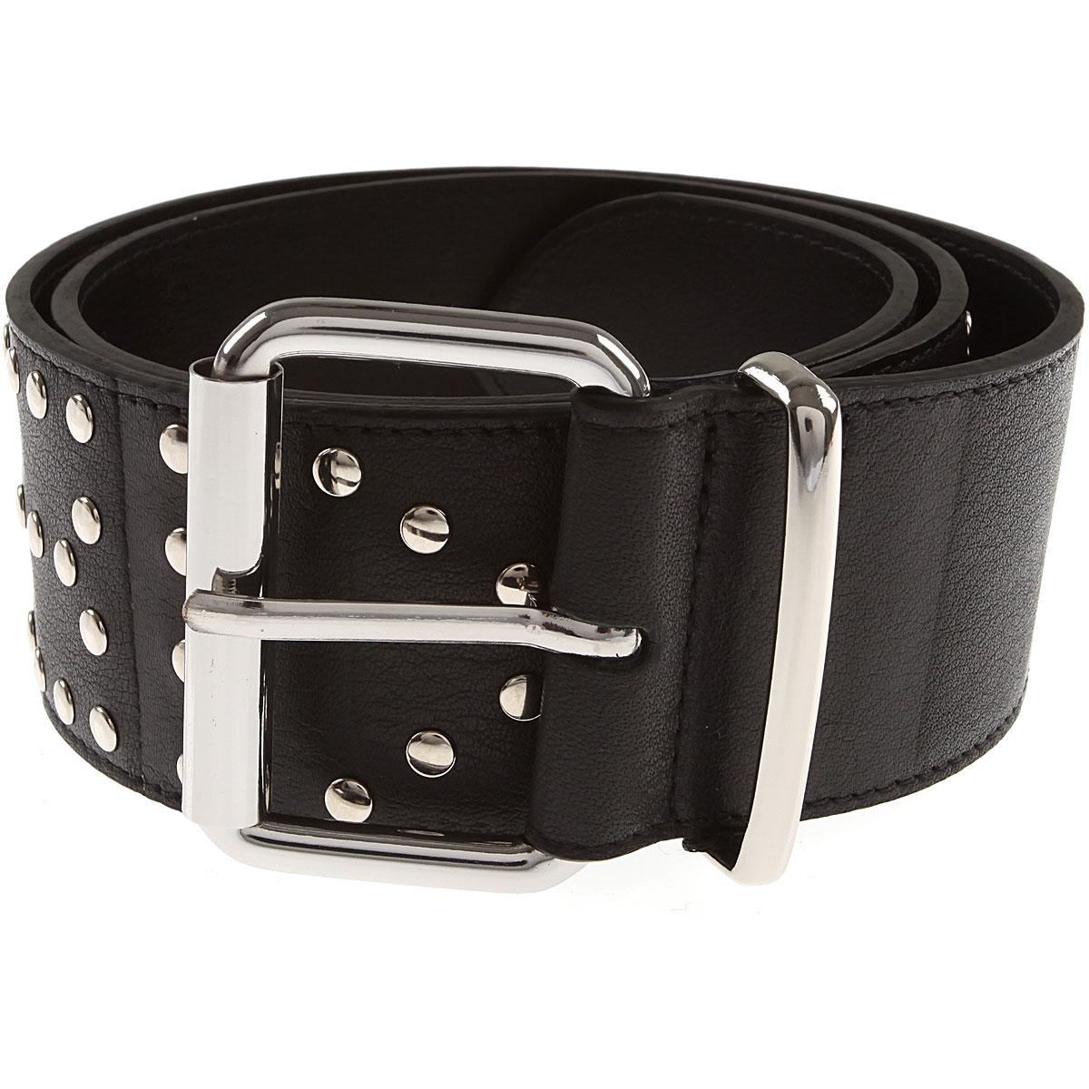 Image of Sonia Rykiel Belt for Women, Black, Leather, 2017