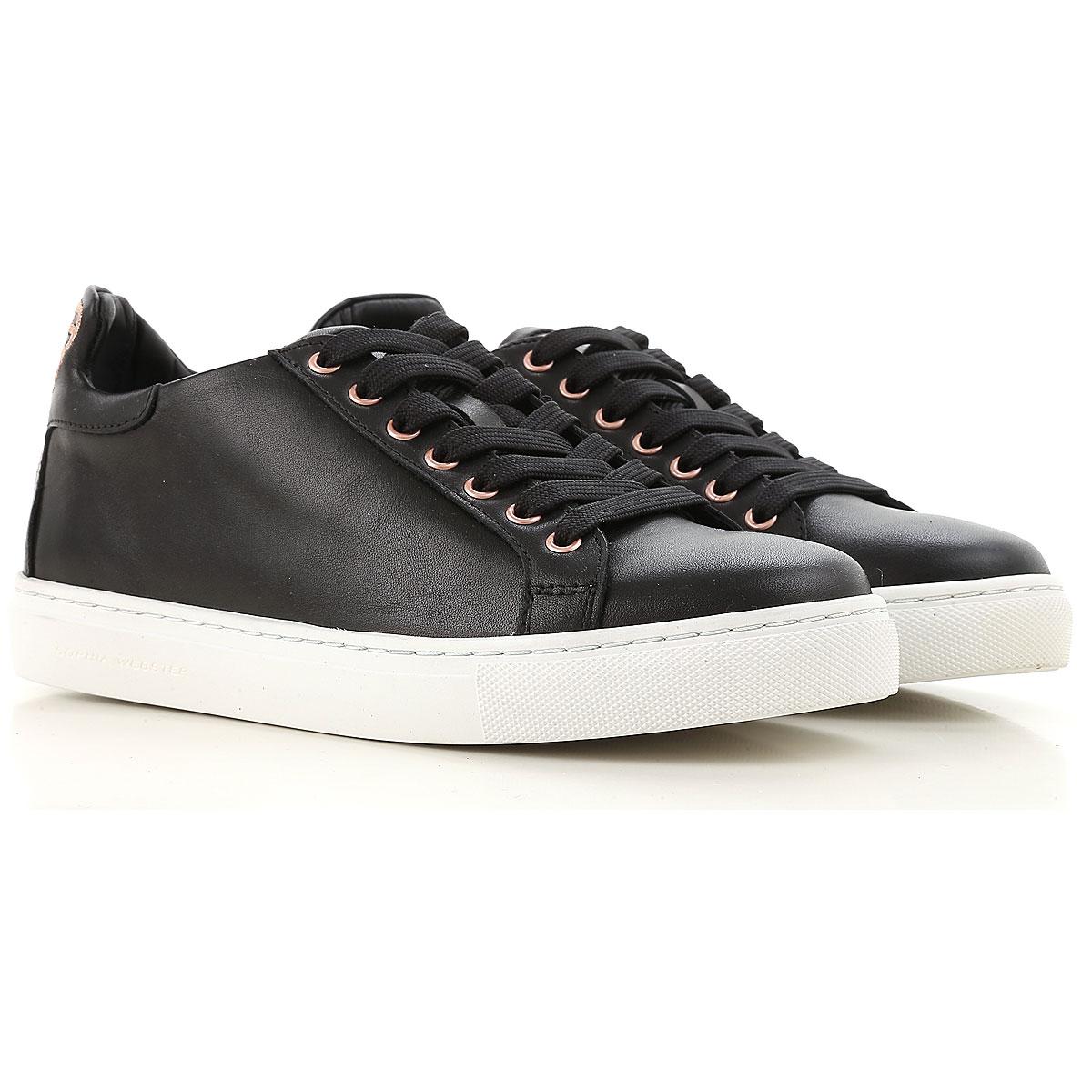 Sophia Webster Sneakers for Women On Sale in Outlet, Black, Leather, 2019, 5 6.5