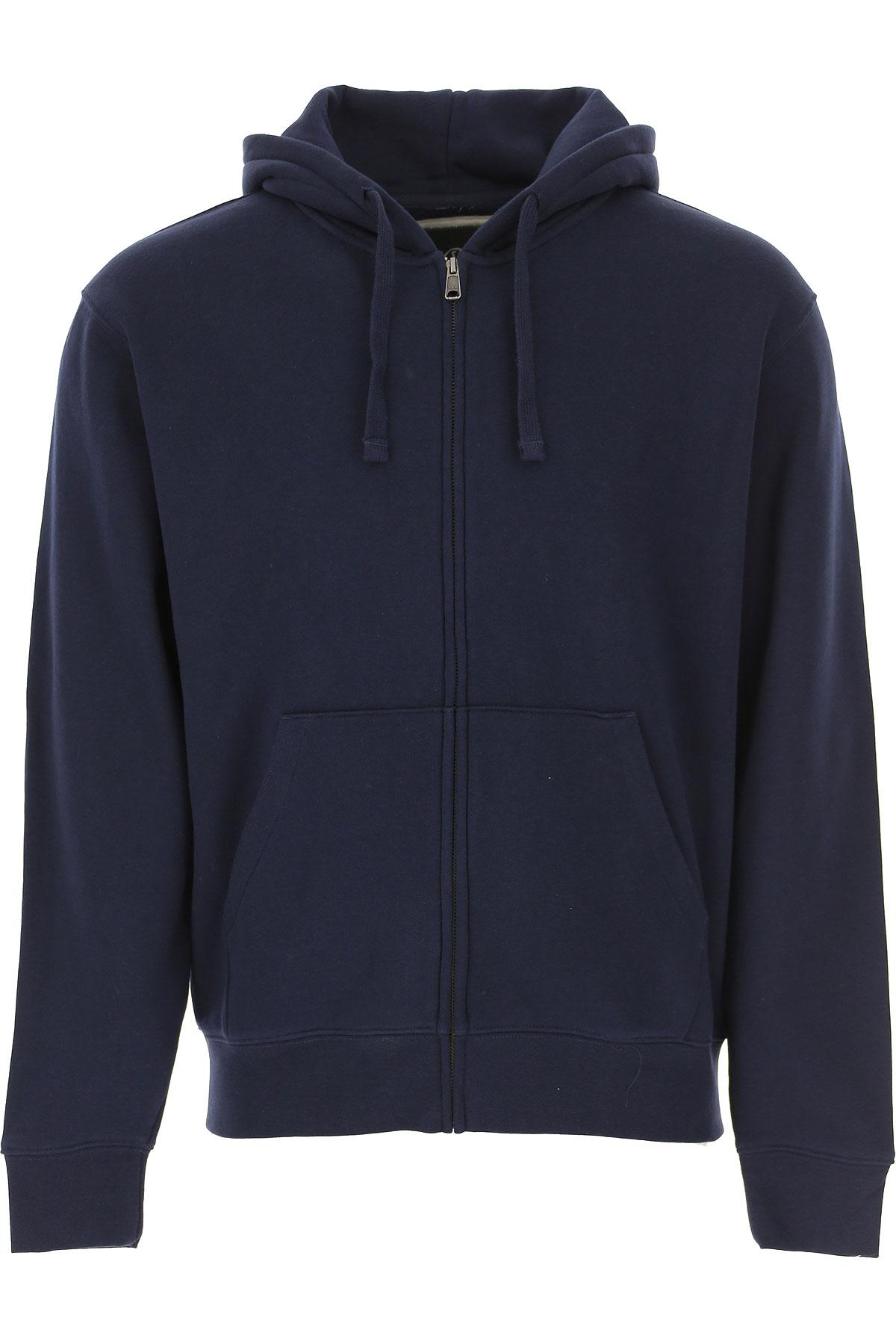 Spalding Sweatshirt for Men, Dark Navy Blue, Cotton, 2019, L M XL XXL