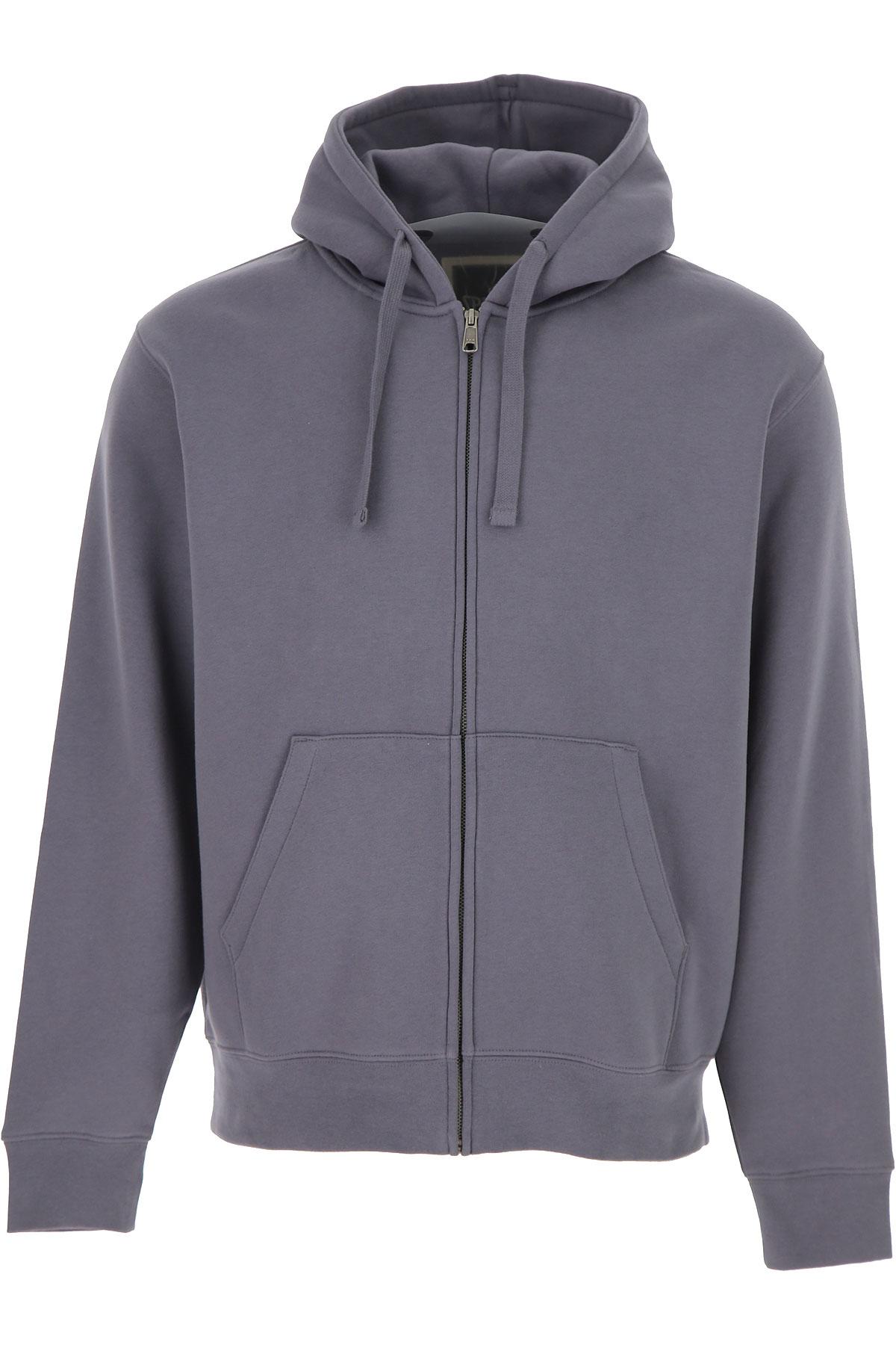 Spalding Sweatshirt for Men On Sale, Elephant Grey, Cotton, 2019, L M XL XXL