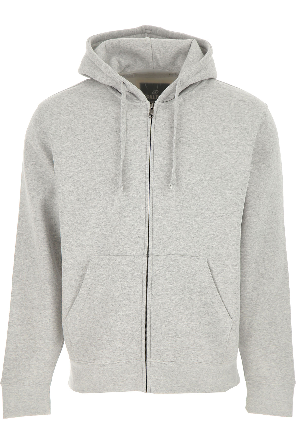 Spalding Sweatshirt for Men On Sale, Grey, Cotton, 2019, L M XL XXL
