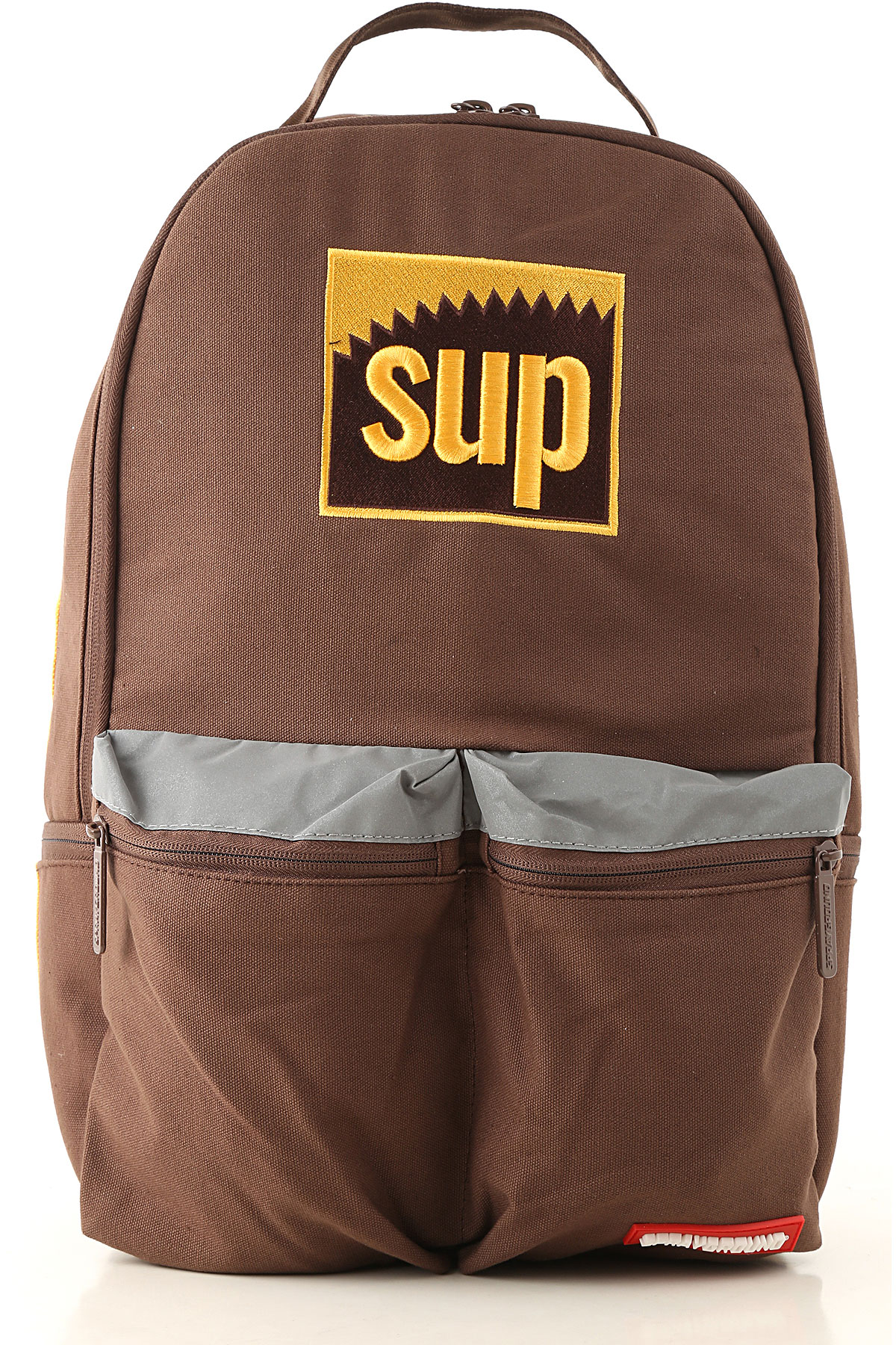 Sprayground Backpack for Men On Sale, Brown, Canvas, 2019