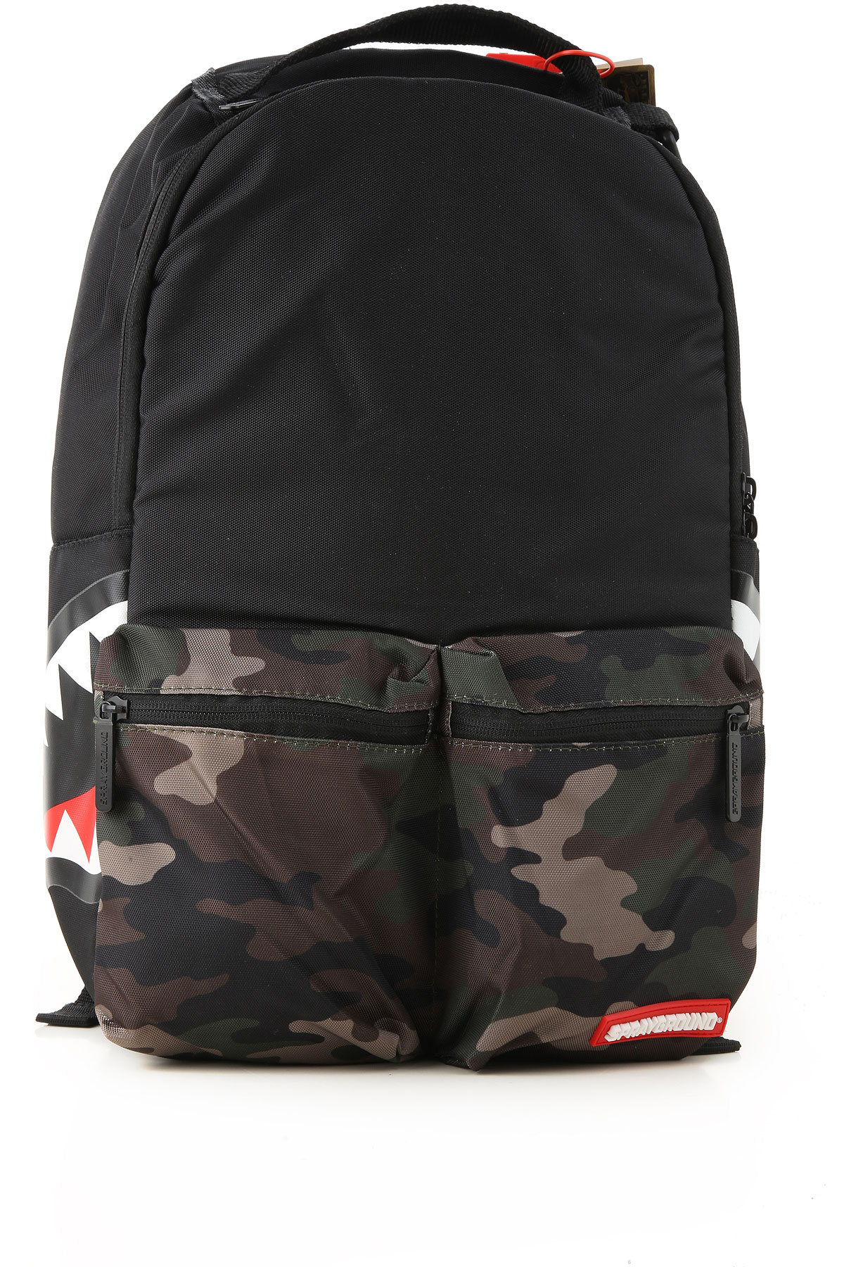 Sprayground Backpack for Men On Sale, Black, PVC, 2019
