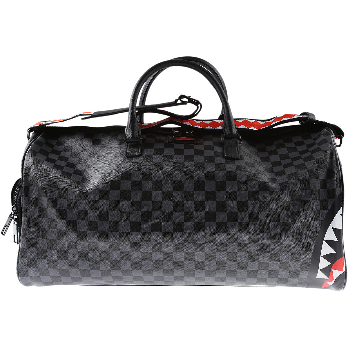 Sprayground Weekender Duffel Bag for Men On Sale, Black, 2019