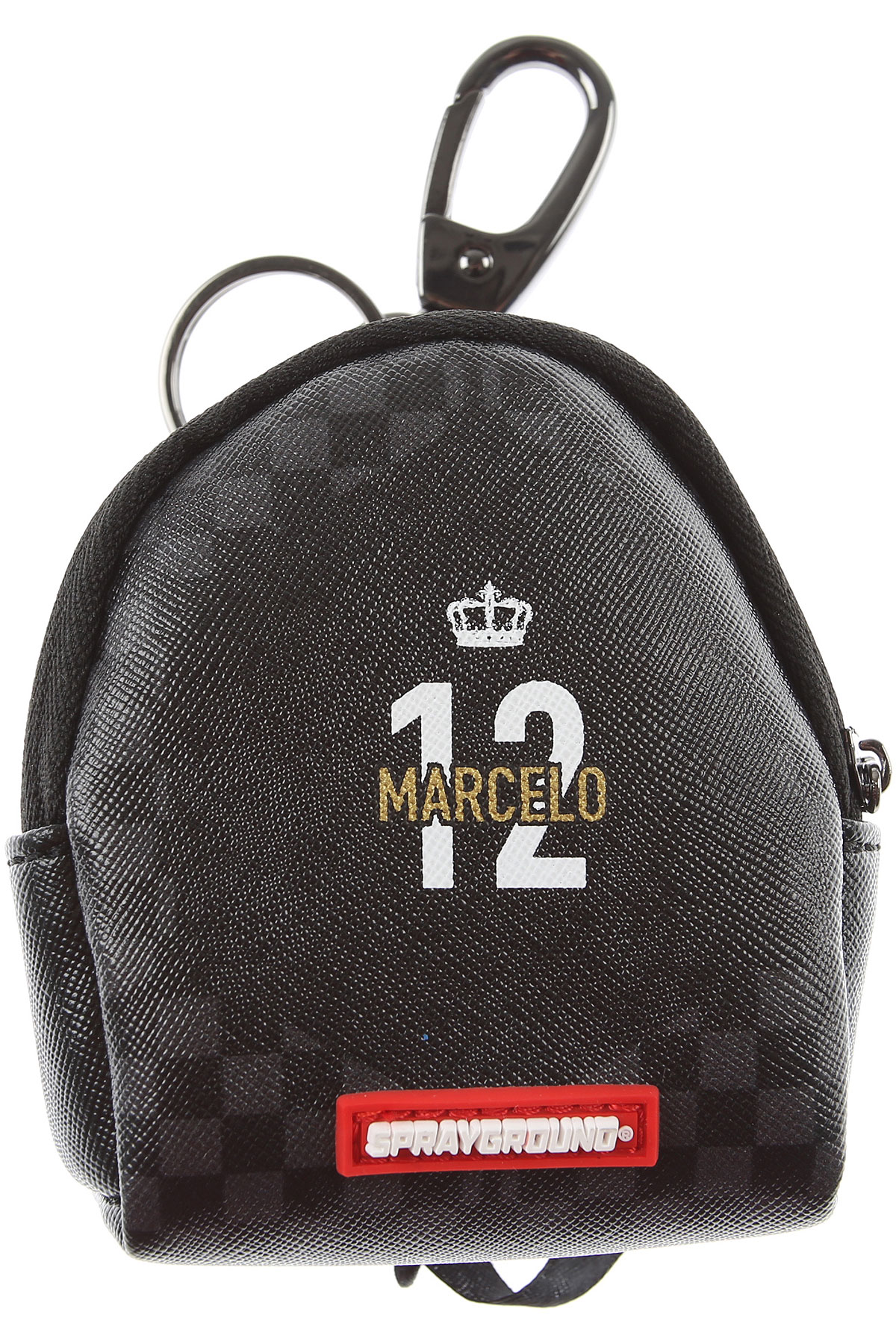 Sprayground Briefcases On Sale, Marcelo Soccer King, Black, polyester, 2019