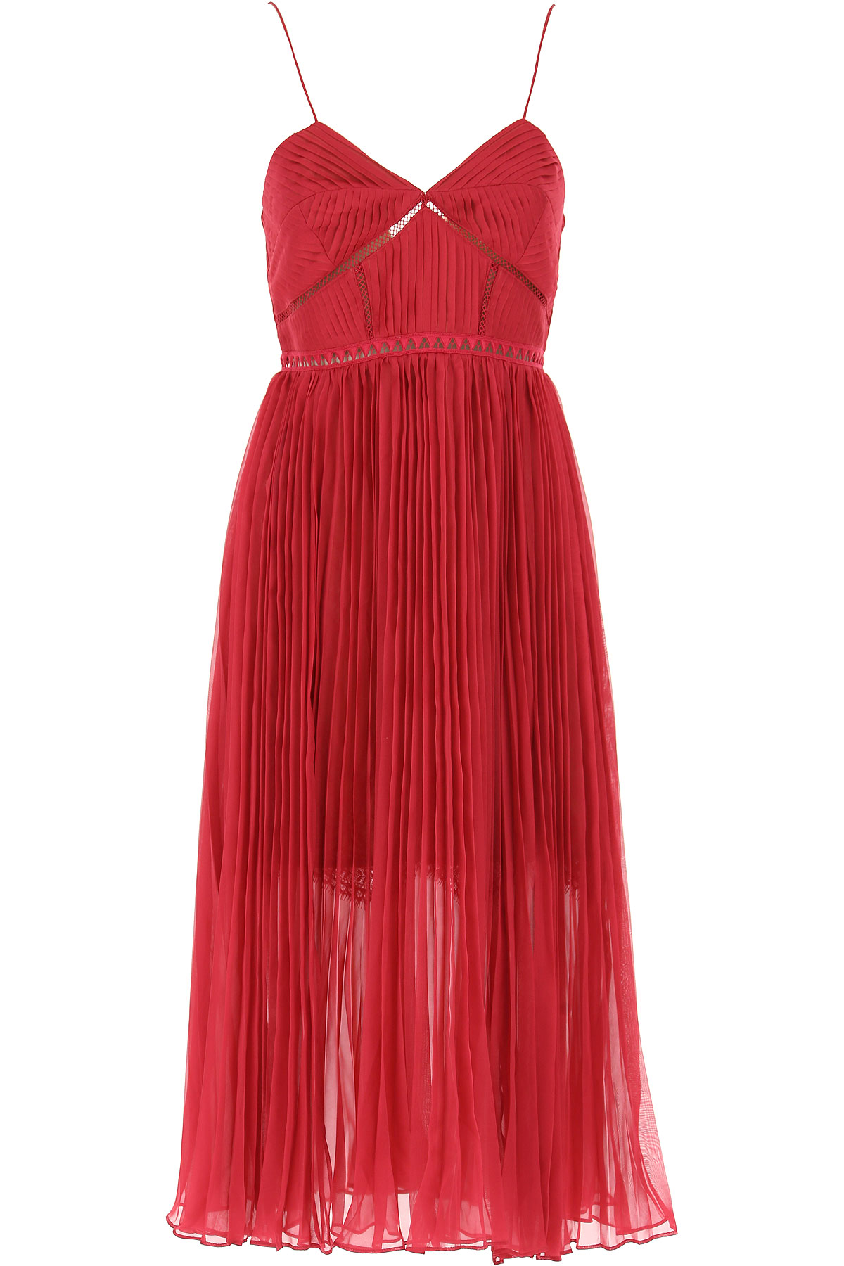 Image of Self-portrait Dress for Women, Evening Cocktail Party, fuxia, polyester, 2017, UK 8 - US 6 - EU 40 UK 10 - US 8 - EU 42 UK 12 - US 10 - EU 44