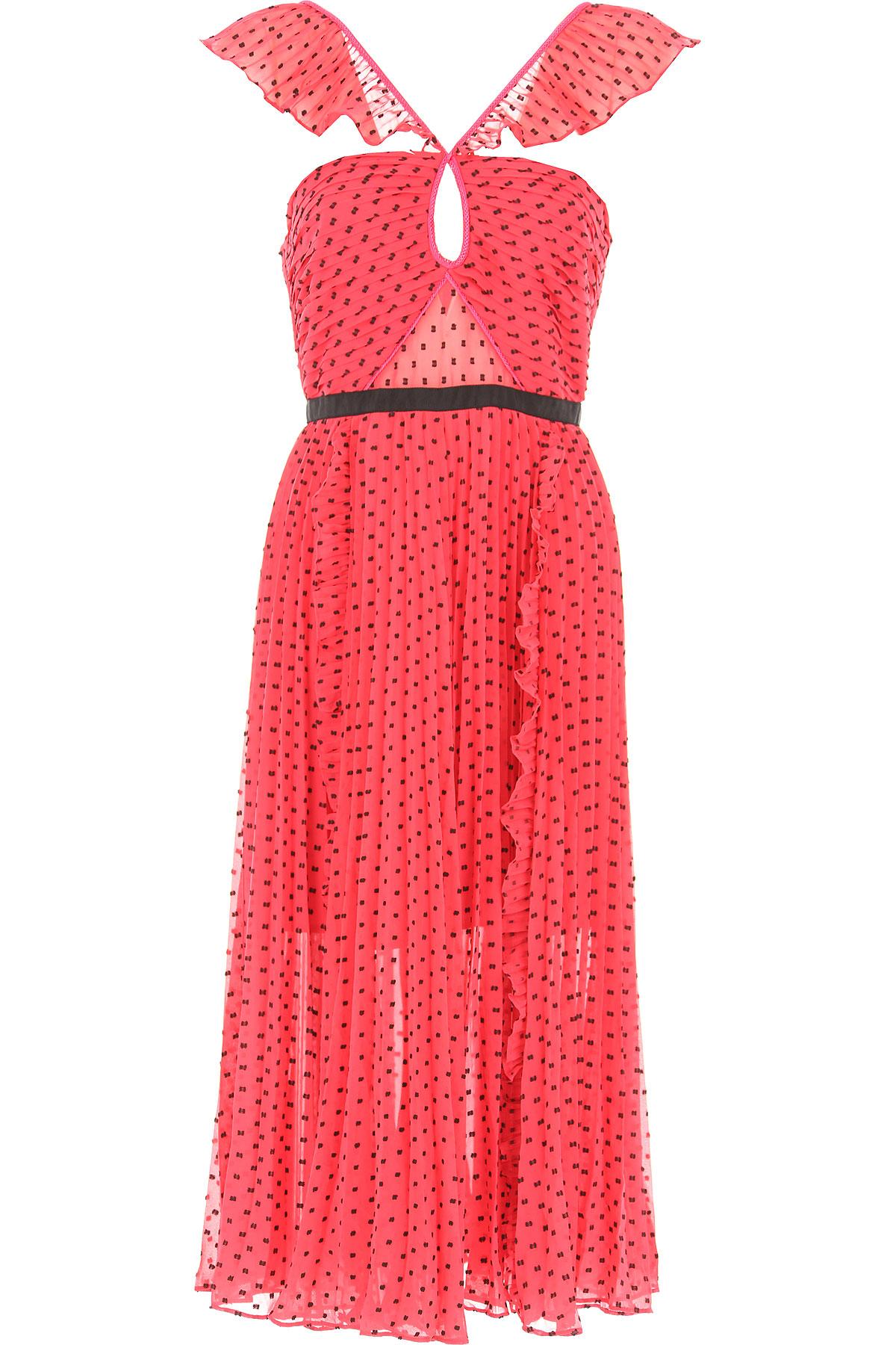 Image of Self-portrait Dress for Women, Evening Cocktail Party, Fuchsia, polyester, 2017, UK 8 - US 6 - EU 40 UK 10 - US 8 - EU 42 UK 12 - US 10 - EU 44