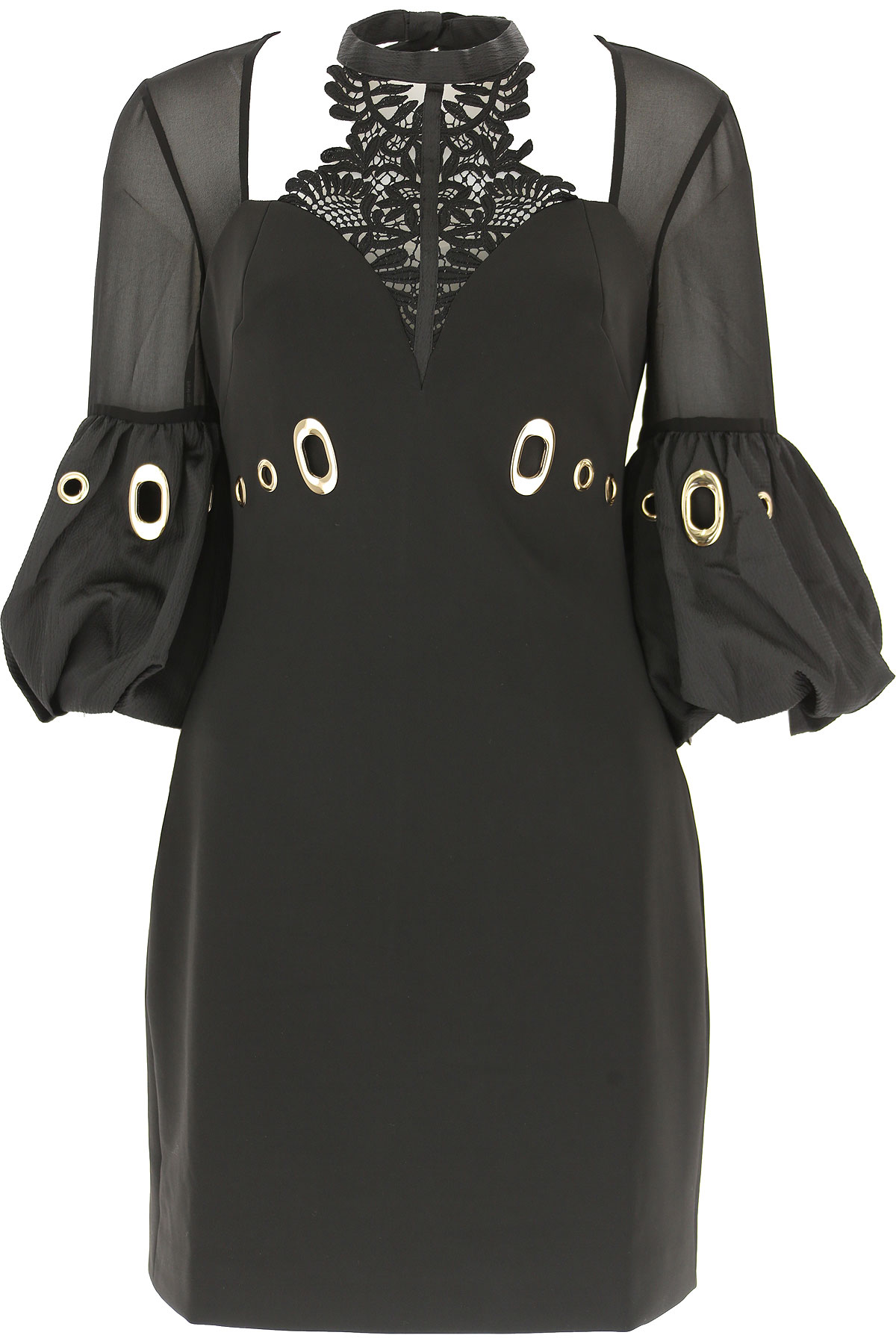 Image of Self-portrait Dress for Women, Evening Cocktail Party, Black, polyester, 2017, UK 6 - US 4 - EU 38 UK 10 - US 8 - EU 42