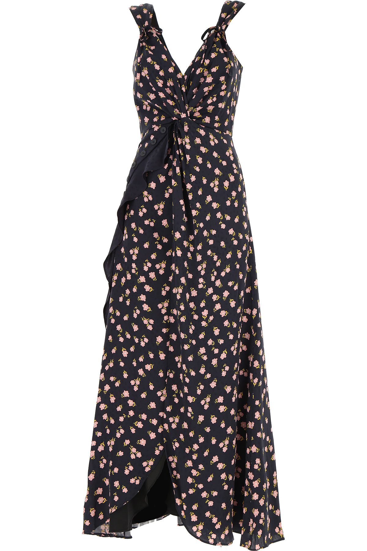 Self-portrait Dress for Women, Evening Cocktail Party On Sale in Outlet, Black, Viscose, 2019, L - UK 12 - IT 44 M - UK 10 - IT 42