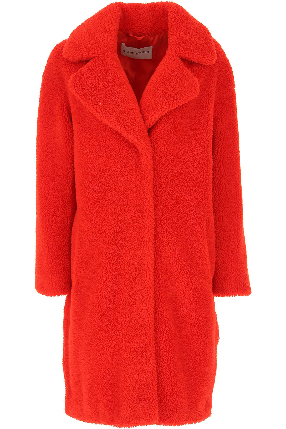 Stand Studio Jacket for Women On Sale, Red, polyester, 2019, 2