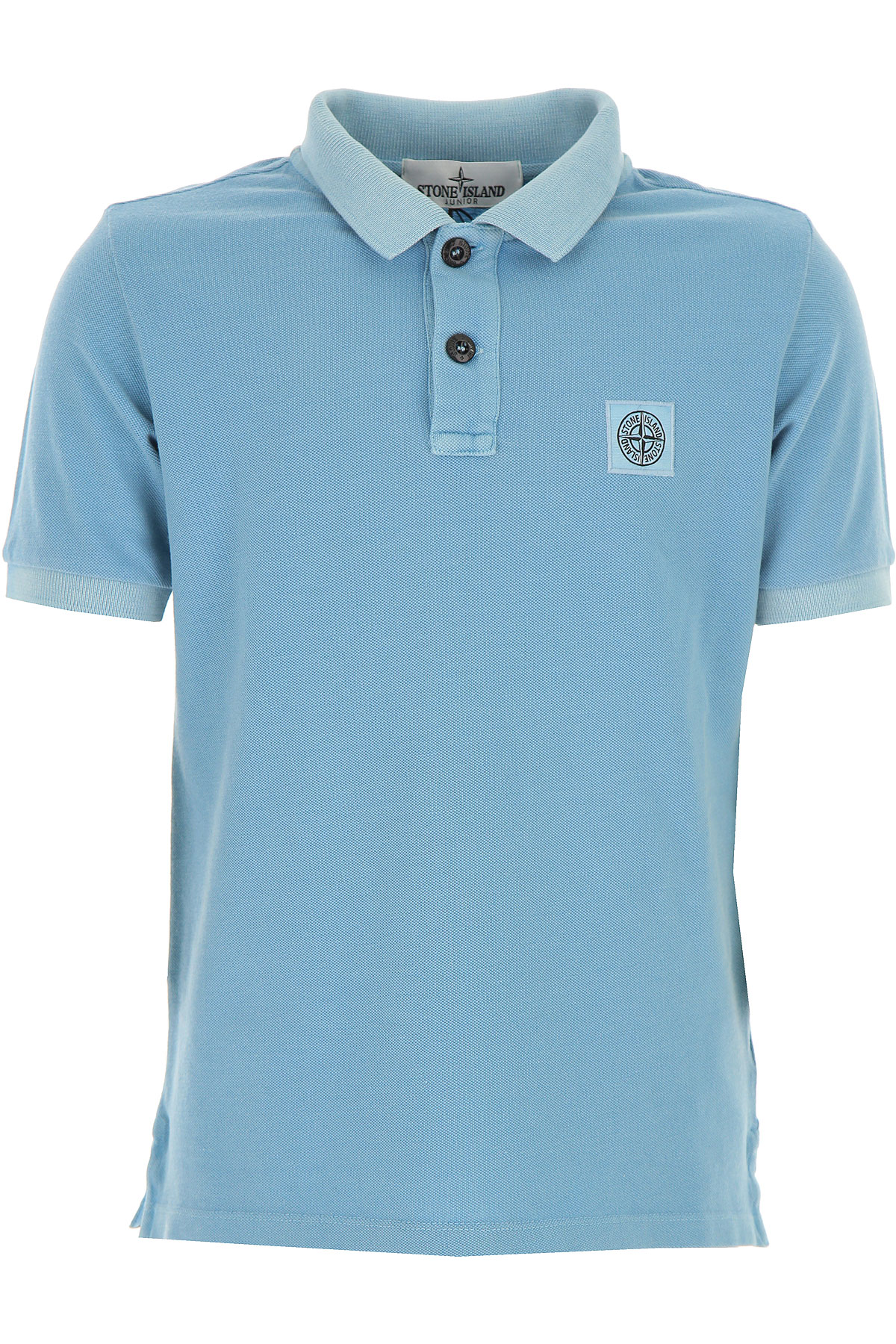 Stone Island Kids Polo Shirt for Boys On Sale in Outlet, Skyblue, Cotton, 2019, 2Y 3Y