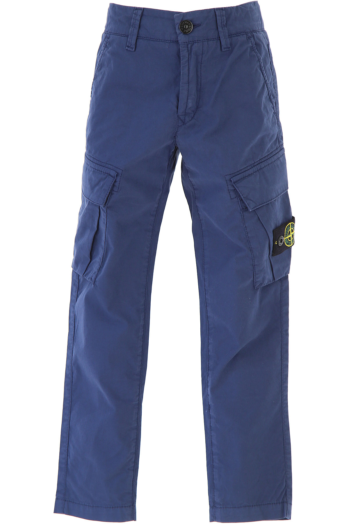 Stone Island Kids Pants for Boys On Sale in Outlet, Blue, Cotton, 2019, 2Y 3Y 4Y 5Y