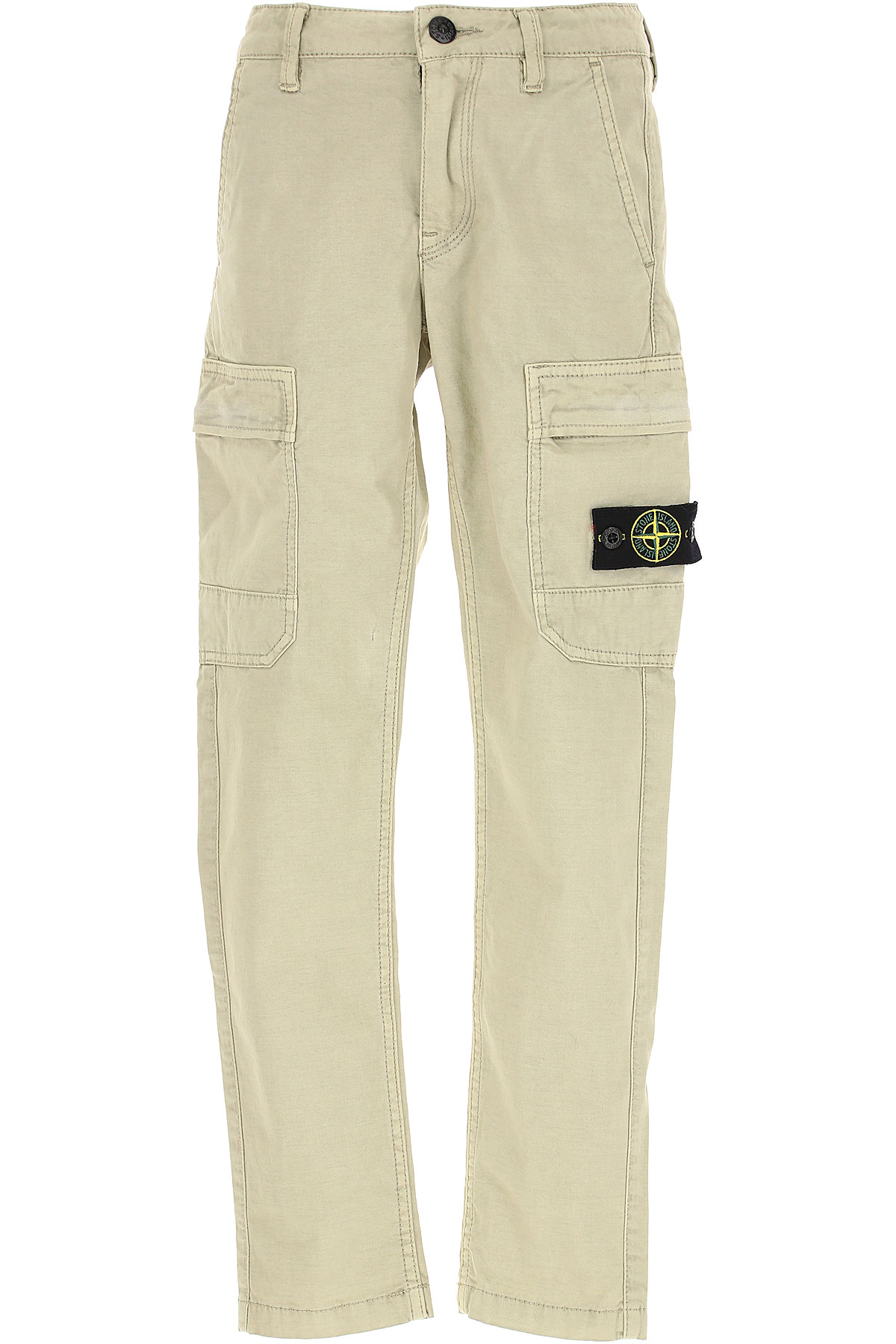 Stone Island Kids Pants for Boys On Sale in Outlet, Beige, Cotton, 2019, 4Y 5Y 6Y 8Y