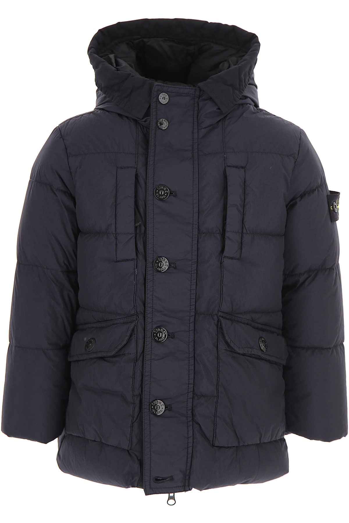 Image of Stone Island {DESIGNER} Kids Coat for Boys, Blue, polyamide, 2017, 10Y 6Y 8Y