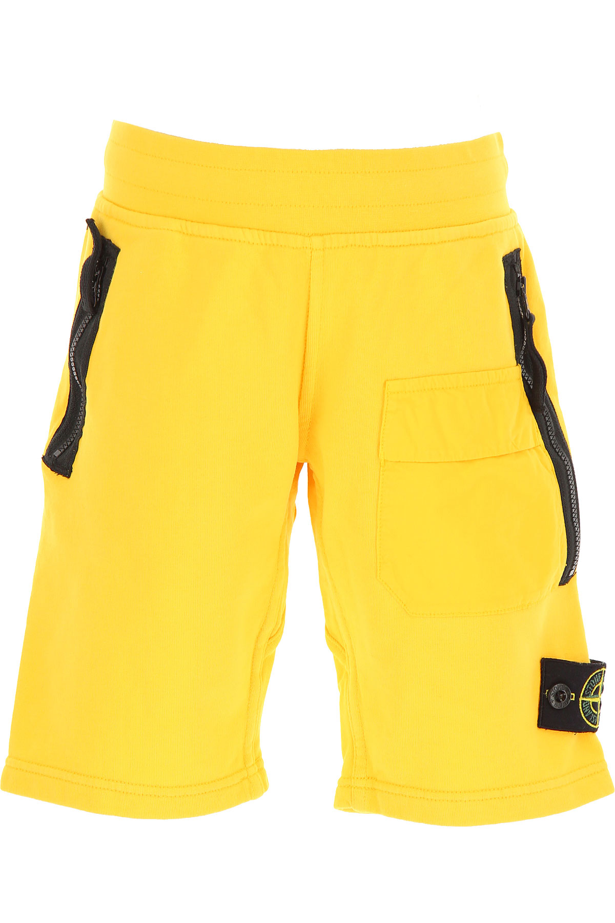 Stone Island Kids Shorts for Boys On Sale in Outlet, Yellow, Cotton, 2019, 6Y 8Y