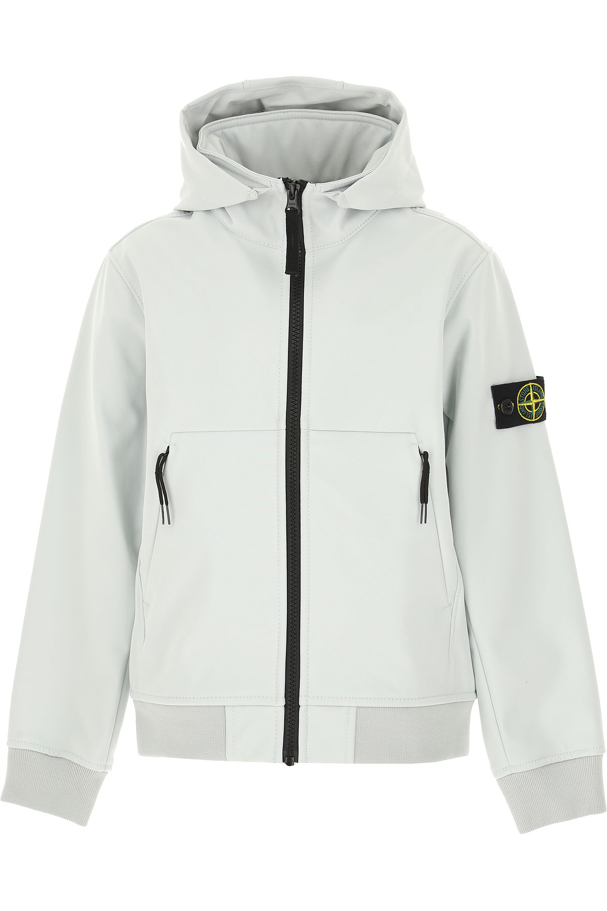 Stone Island Kids Jacket for Boys On Sale, Ice Grey, polyester, 2019, 10Y 8Y