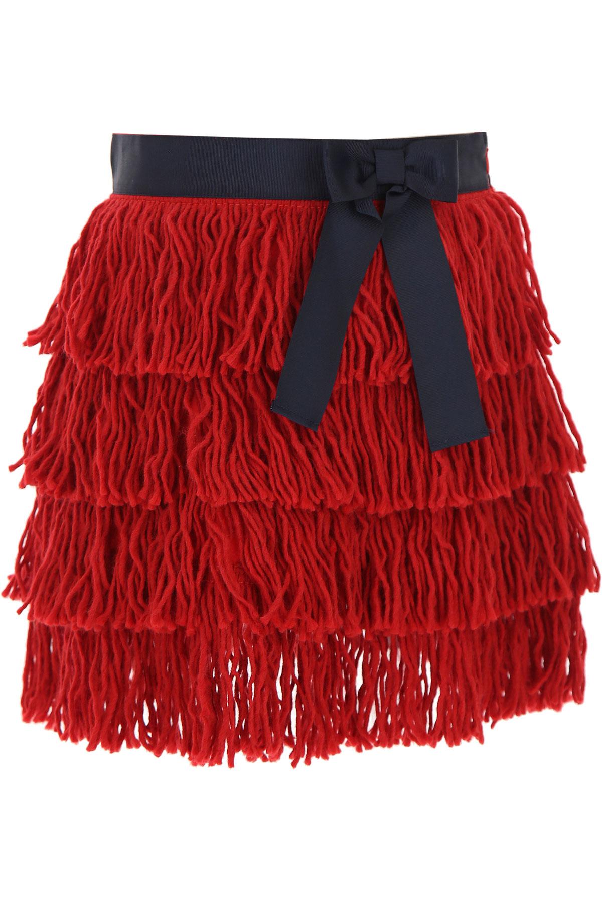 Stella Jean Kids Skirts for Girls On Sale, Red, Viscose, 2019, 10Y 4Y 6Y 8Y
