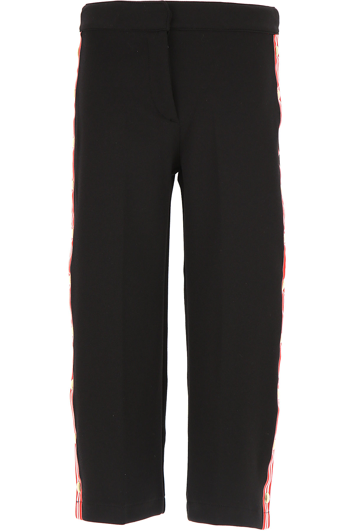 Image of Stella Jean Kids Pants for Girls, Black, polyester, 2017, 10Y 14Y 4Y 6Y 8Y