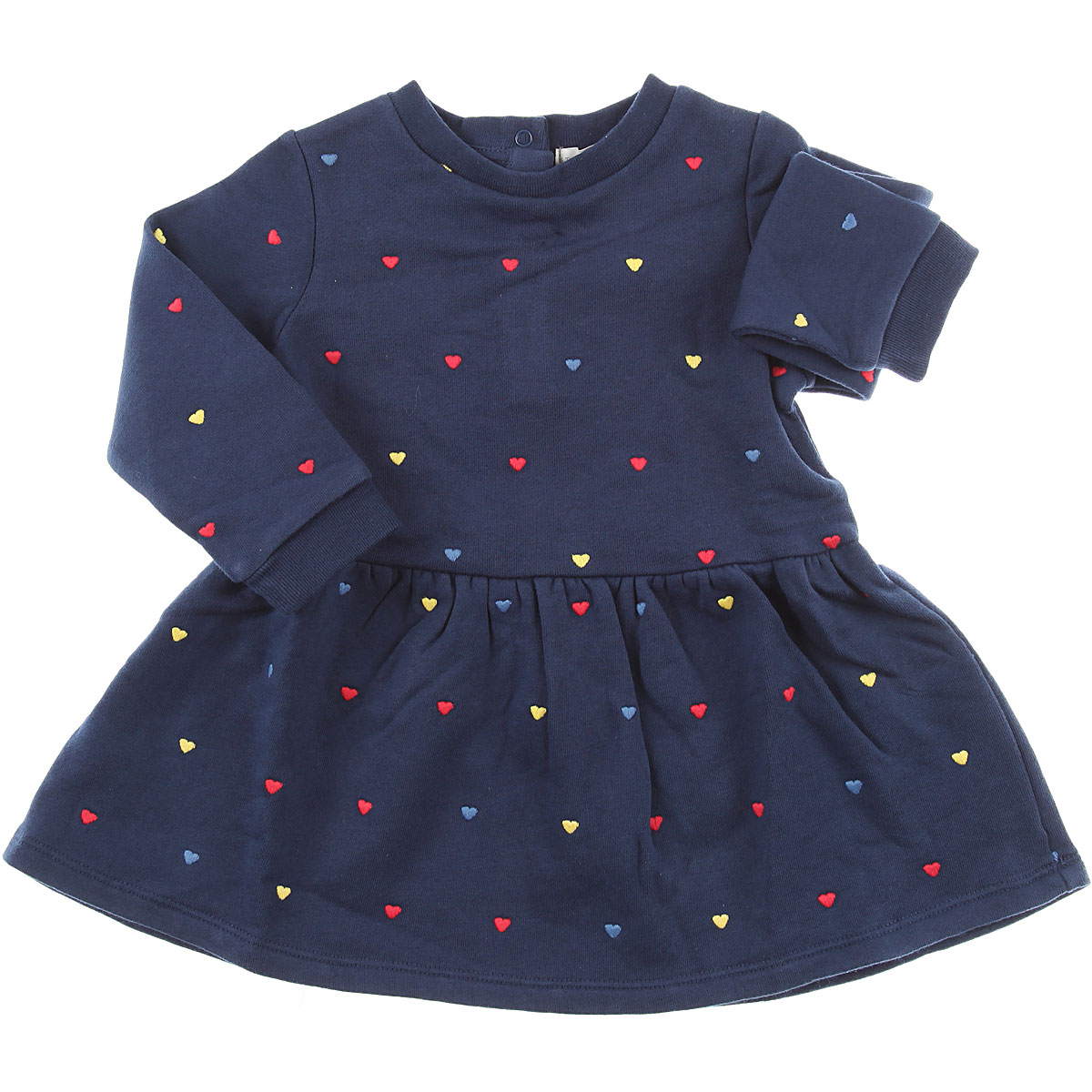 Image of Stella McCartney Baby Dress for Girls, Blue, Cotton, 2017, 12M 18M 6M 9M