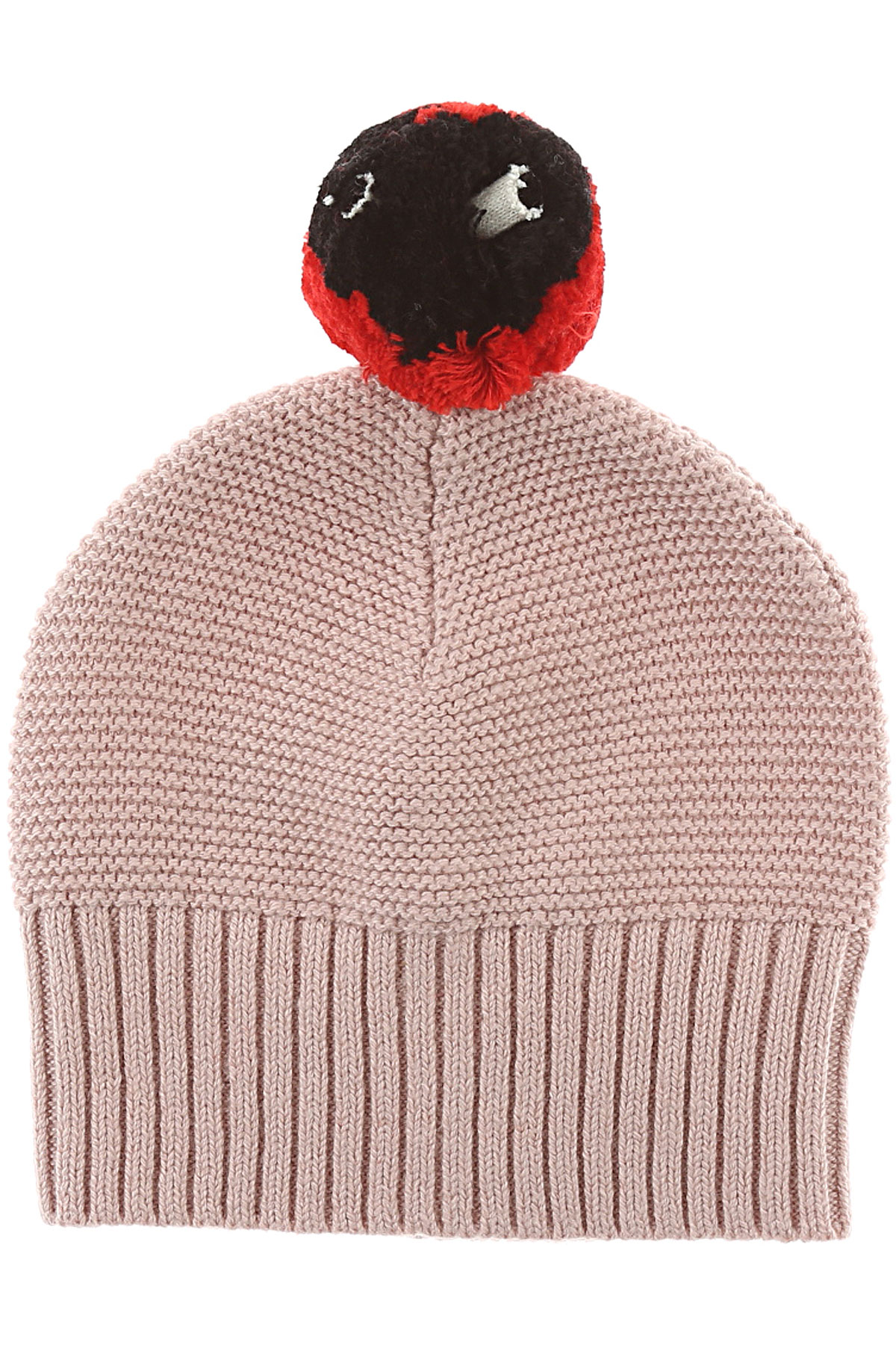 Image of Stella McCartney Baby Hats for Girls, Pink, Cotton, 2017, 6M