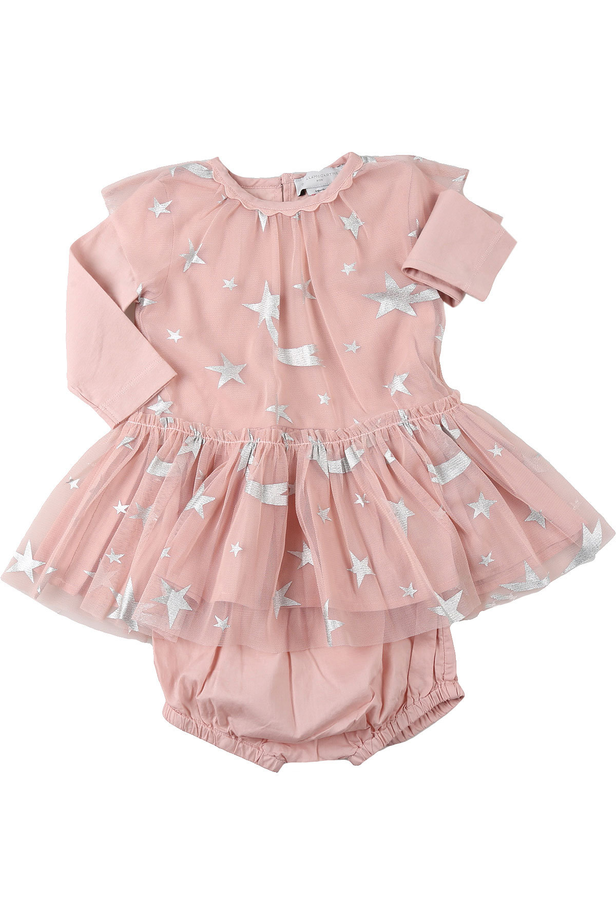 Stella McCartney Baby Dress for Girls On Sale, Pink, polyester, 2019, 12M 18M 2Y 3Y 9M