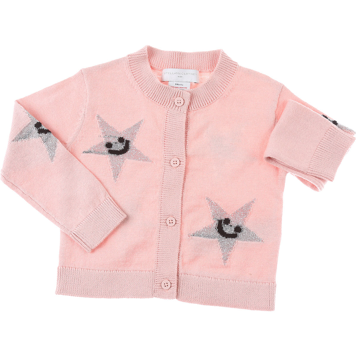 Stella McCartney Baby Sweaters for Girls On Sale, Pink, Cotton, 2019, 12M 18M 2Y 3Y 6M 9M