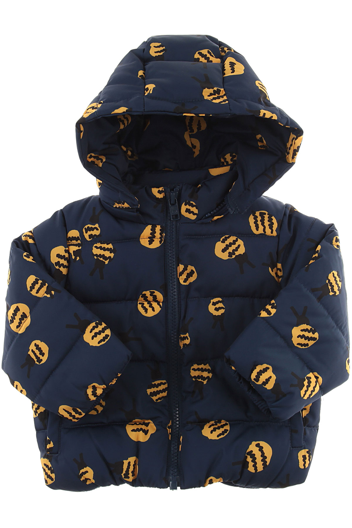Image of Stella McCartney Baby Down Jacket for Boys, Blue, polyester, 2017, 12M 2Y 3Y 6M