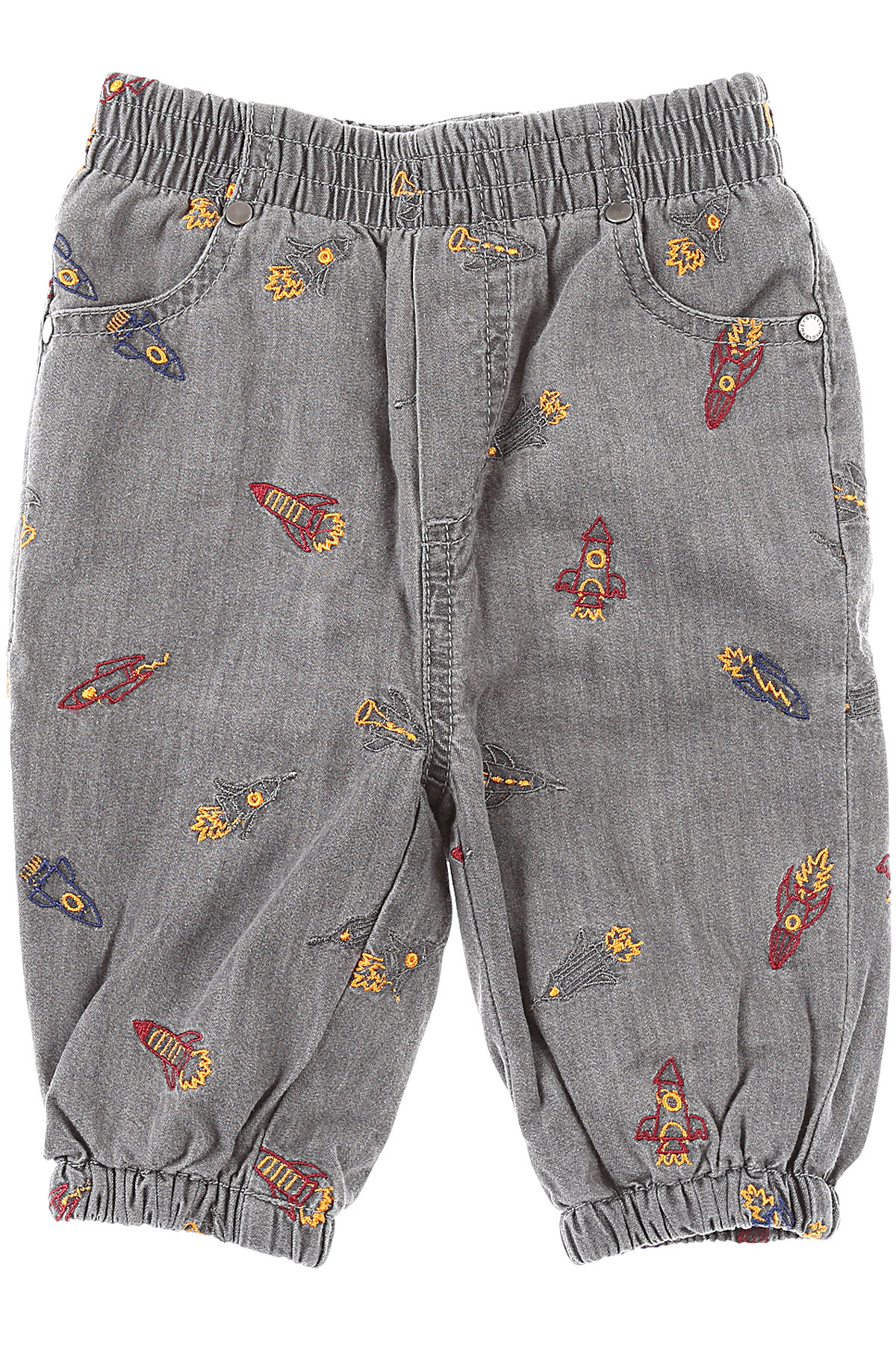 Stella McCartney Baby Pants for Boys On Sale, Grey, Cotton, 2019, 18 M 9 M