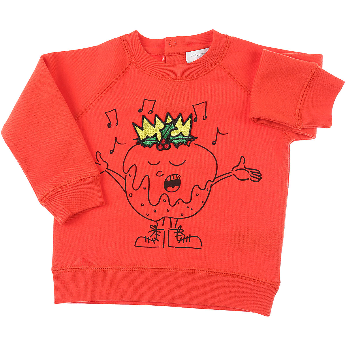 Stella McCartney Baby Sweatshirts & Hoodies for Boys On Sale, Orange Red, Cotton, 2019, 12 M 18M 2Y 3Y