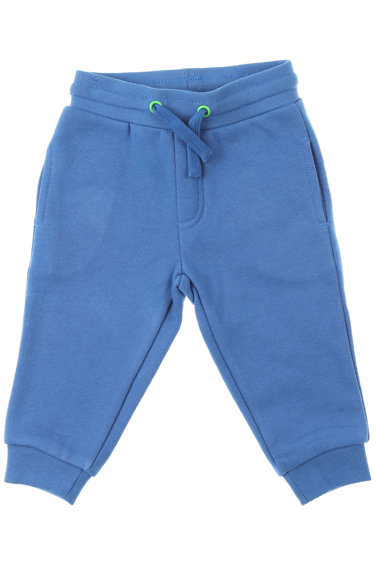 Stella McCartney Baby Sweatpants for Boys On Sale, Blue, Cotton, 2019, 18 M 2Y 6M 9 M