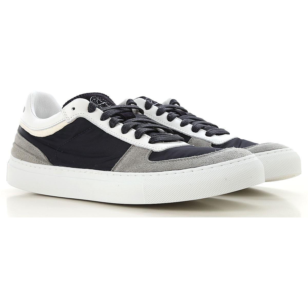 Stone Island Sneaker Homme, Bleu marine, Nylon, 2017, 40 41 42 43 44