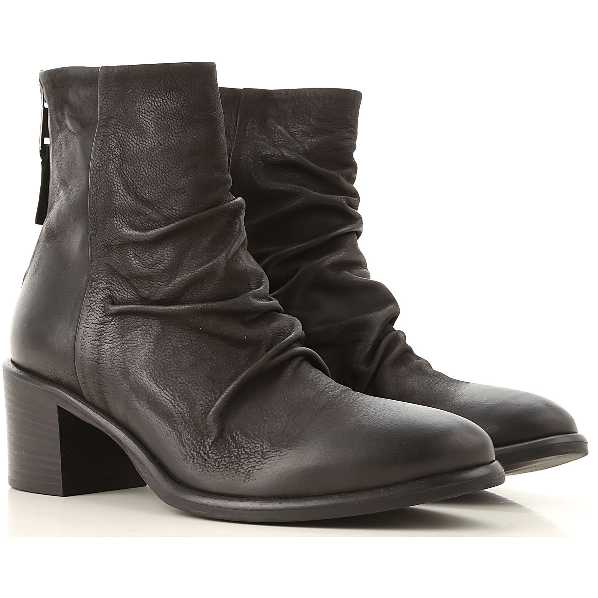 Strategia Boots for Women, Booties On Sale, Black, Leather, 2019, 10 11 5 6 6.5 7 8 8.5 9 9.5