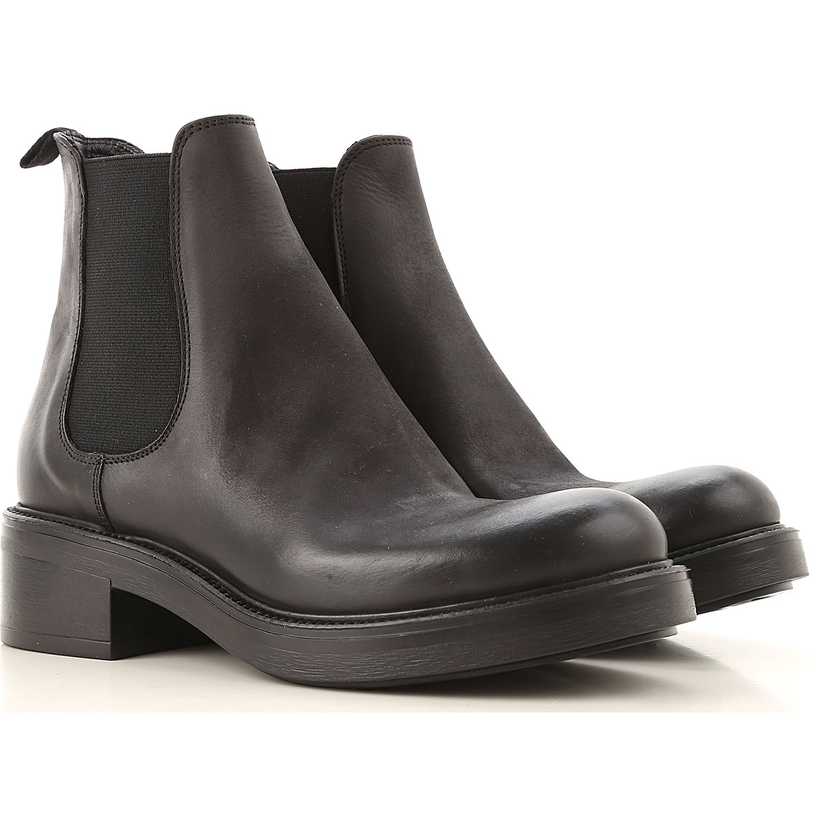 Strategia Chelsea Boots for Women, Black, Leather, 2019, 10 5 7 8 8.5 9