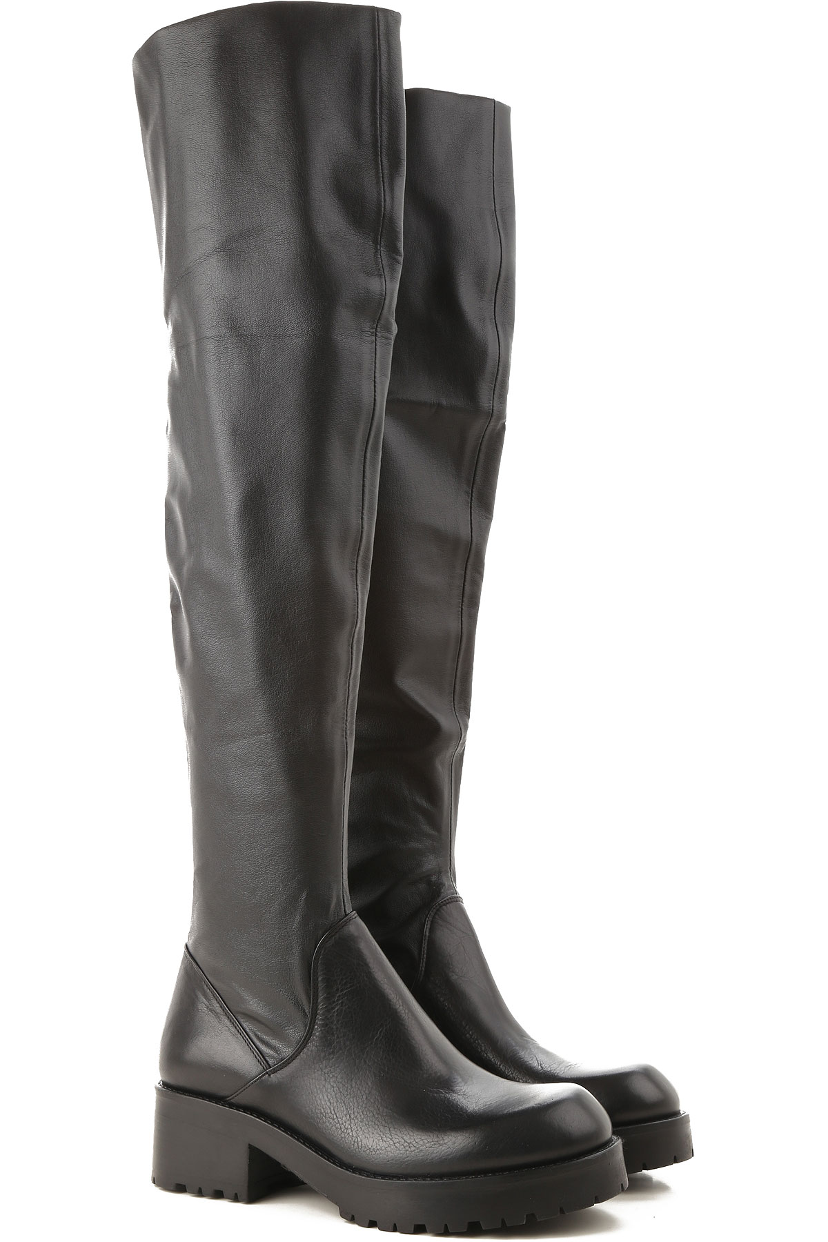 Image of Strategia Boots for Women, Booties, Black, Leather, 2017, 10 5 6 7 8 9