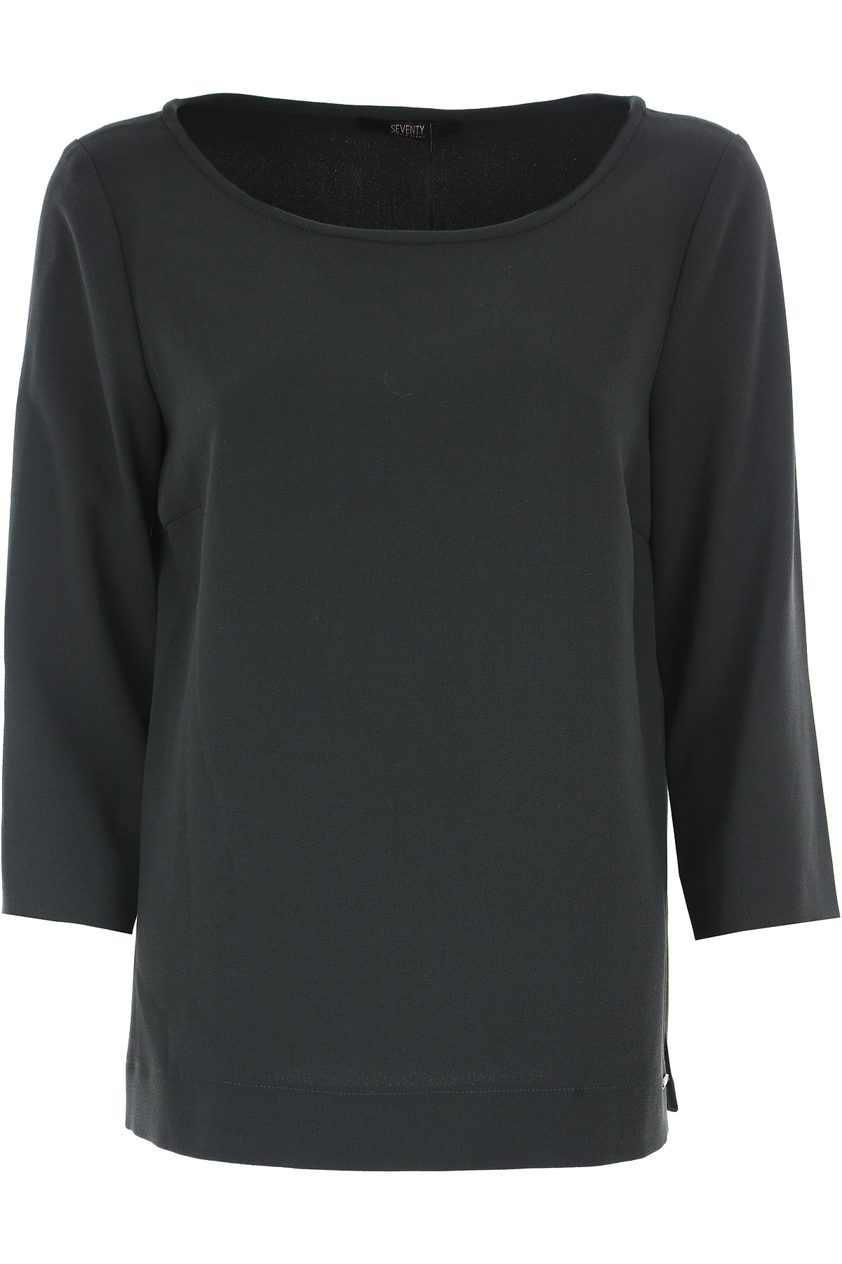 Image of Seventy Top for Women On Sale, Green Forest, polyester, 2017, 12 8