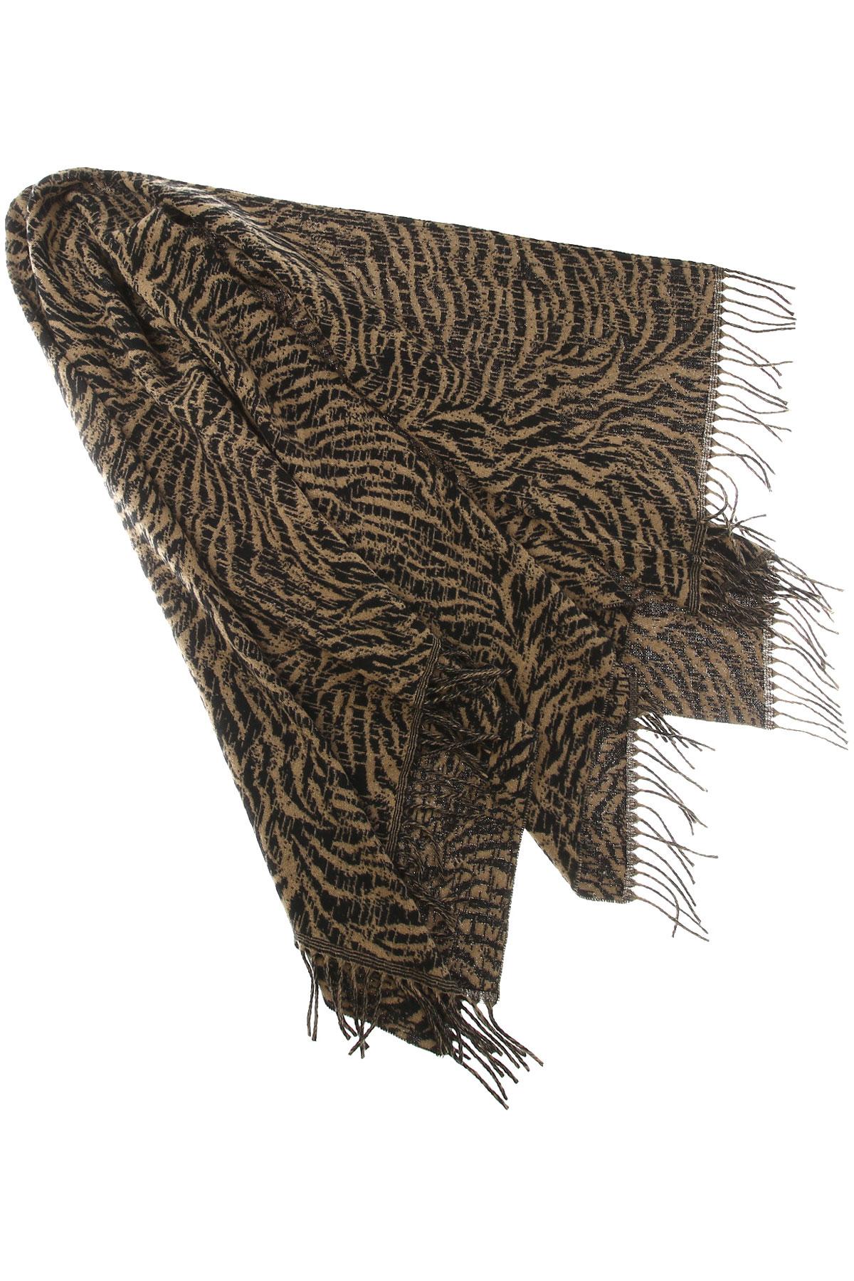 Seventy Scarf for Women On Sale, Black, Wool, 2019