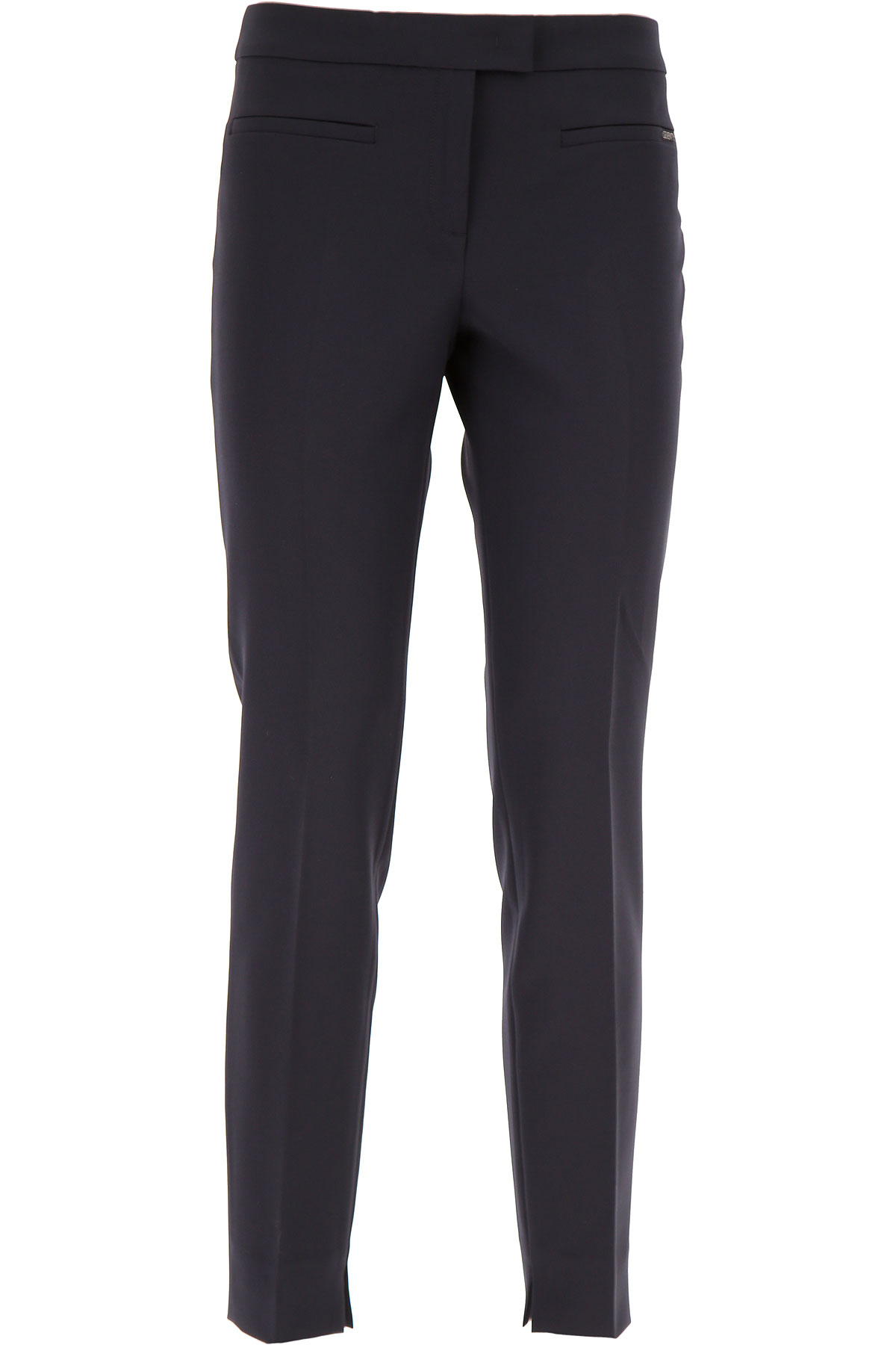 Image of Seventy Pants for Women On Sale, navy, poliestere, 2017, 10 2 4 6 8