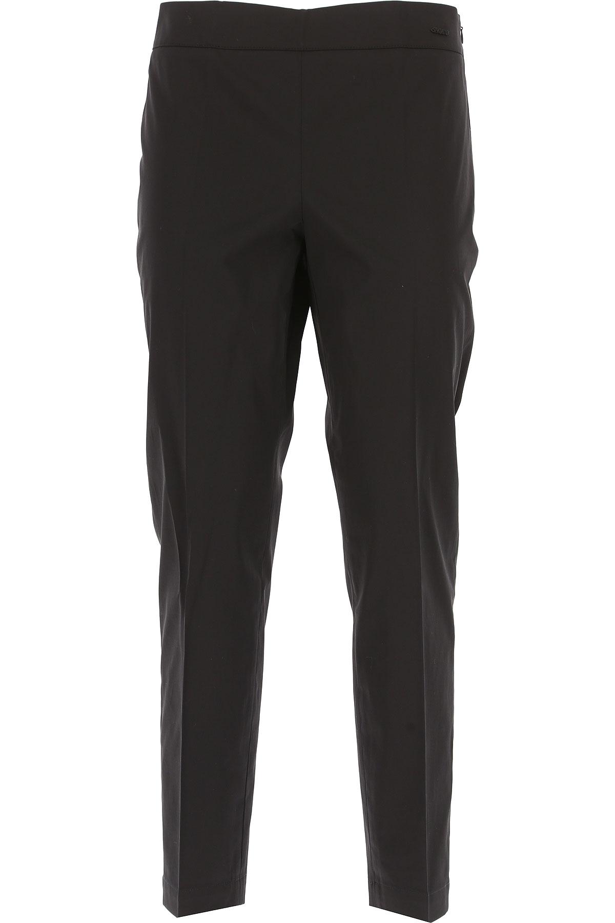 Image of Seventy Pants for Women On Sale, Black, Cotton, 2017, 10 4 8